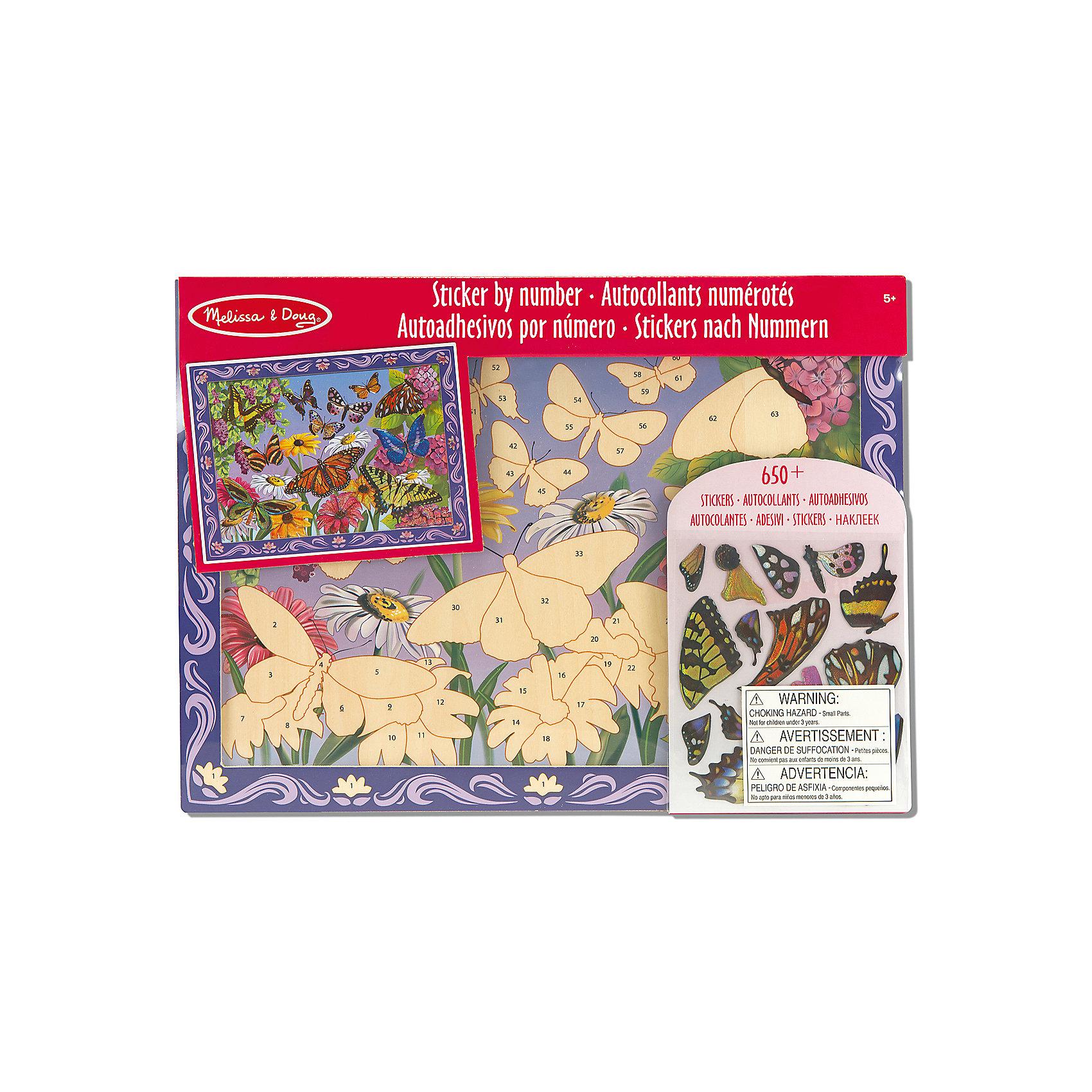 Мозаика Цветочная Поляна, Melissa &amp; DougМозаика<br>С помощью набора Мозаика Цветочная Поляна, Melissa &amp; Doug (Мелисса и Даг) можно создать волшебную картину, на которой изображен сад со сказочными бабочками. Собрать мозаику очень легко даже ребенку: просто наклейте каждый пронумерованный элемент на деревянный фон согласно указанным цифрам. В результате получится красивое панно, которым Ваш малыш будет гордиться! Этот набор для творчества способствует развитию логического и художественного мышления, мелкой моторики, усидчивости.<br><br>Комплектация: деревянная основа, более 60 стикеров<br><br>Дополнительная информация:<br>-Материал: дерево, пластик<br>-Размер упаковки: 40,6х30,4х1,9 см<br>-Вес: 0,6 кг<br><br>Мозаика «Цветочная поляна» – набор для творчества, который является превосходным подарком для детей, чтобы они могли проявить фантазию и творческий подход, создавая красивую мозаичную картину.<br><br>Мозаика Цветочная Поляна, Melissa &amp; Doug (Мелисса и Даг) можно купить в нашем магазине.<br><br>Ширина мм: 400<br>Глубина мм: 400<br>Высота мм: 300<br>Вес г: 620<br>Возраст от месяцев: 60<br>Возраст до месяцев: 180<br>Пол: Женский<br>Возраст: Детский<br>SKU: 4008281