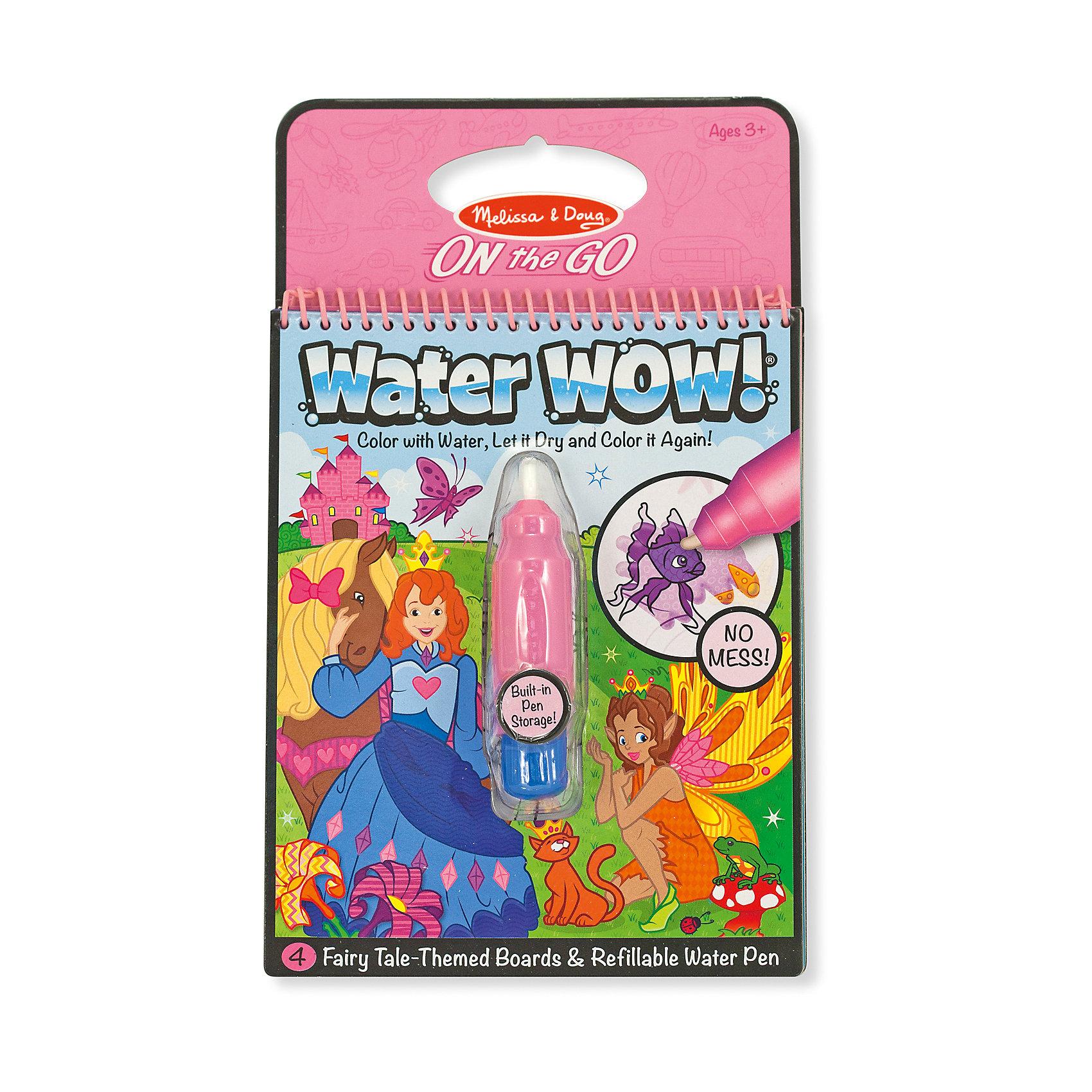 Рисуем водой Фея, Melissa &amp; DougРисование<br>Рисуем водой Фея, Melissa &amp; Doug (Мелисса и Даг) – это увлекательная книжка-раскраска для самых маленьких включает в себя 4 картинки с изображением волшебных фей и ручку для раскрашивания. Просто наполните стержень водой и начинайте рисовать. Цвета начнут проявляться, а картинка оживать! После просыхания цвета исчезают, и ребенок может снова и снова возвращаться к разукрашиванию. Водяная ручка имеет удобный размер для детской руки. В процессе рисования развивается мелкая моторика, воображение и творческие навыки. <br><br>Дополнительная информация:<br>-Размер упаковки: 25х16х4 см<br>-Материалы: картон, пластик<br><br>Набор Рисуем водой Фея – это увлекательная волшебная раскраска, которую можно брать даже в путешествия, не боясь, что ребенок испачкается красками!<br><br>Рисуем водой Фея, Melissa &amp; Doug (Мелисса и Даг) можно купить в нашем магазине.<br><br>Ширина мм: 150<br>Глубина мм: 150<br>Высота мм: 250<br>Вес г: 210<br>Возраст от месяцев: 36<br>Возраст до месяцев: 180<br>Пол: Женский<br>Возраст: Детский<br>SKU: 4008290