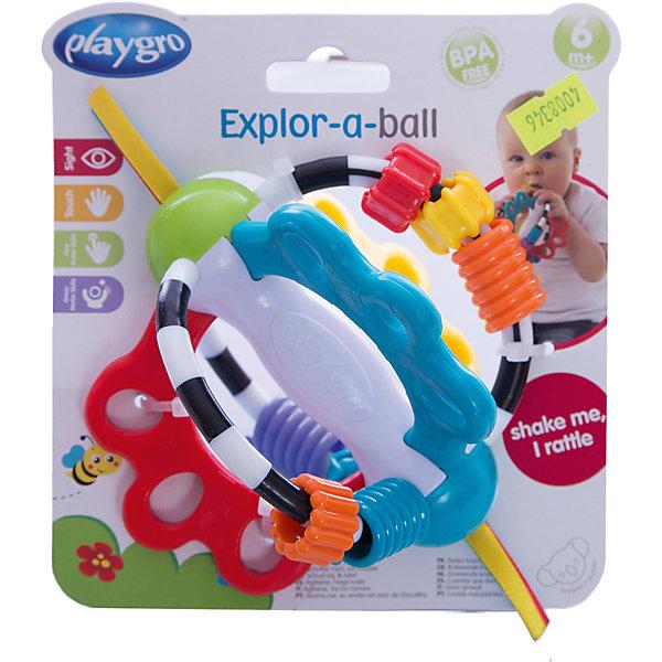 Развивающая игрушка, PlaygroИгрушки для новорожденных<br>Многофункциональная игрушка Playgro развивают не только зрение, но и моторику малыша. Она имеет необычную форму и украшена различными фигурками в виде звездочек, сердечек и бусинок, а ее края декорированы ленточками. Игрушка изготовлена экологически чистых и гипоаллергенных материалов, безопасных для здоровья ребенка.<br><br>Дополнительная информация:<br><br>- Возраст: от 6 до 18 месяцев<br>- Материал: пластик, текстиль<br>- Диаметр игрушки: 17 см<br>- Вес: 0.15 кг<br><br>Развивающую игрушку, Playgro можно купить в нашем интернет-магазине.<br><br>Ширина мм: 164<br>Глубина мм: 145<br>Высота мм: 111<br>Вес г: 115<br>Возраст от месяцев: 6<br>Возраст до месяцев: 18<br>Пол: Унисекс<br>Возраст: Детский<br>SKU: 4008346