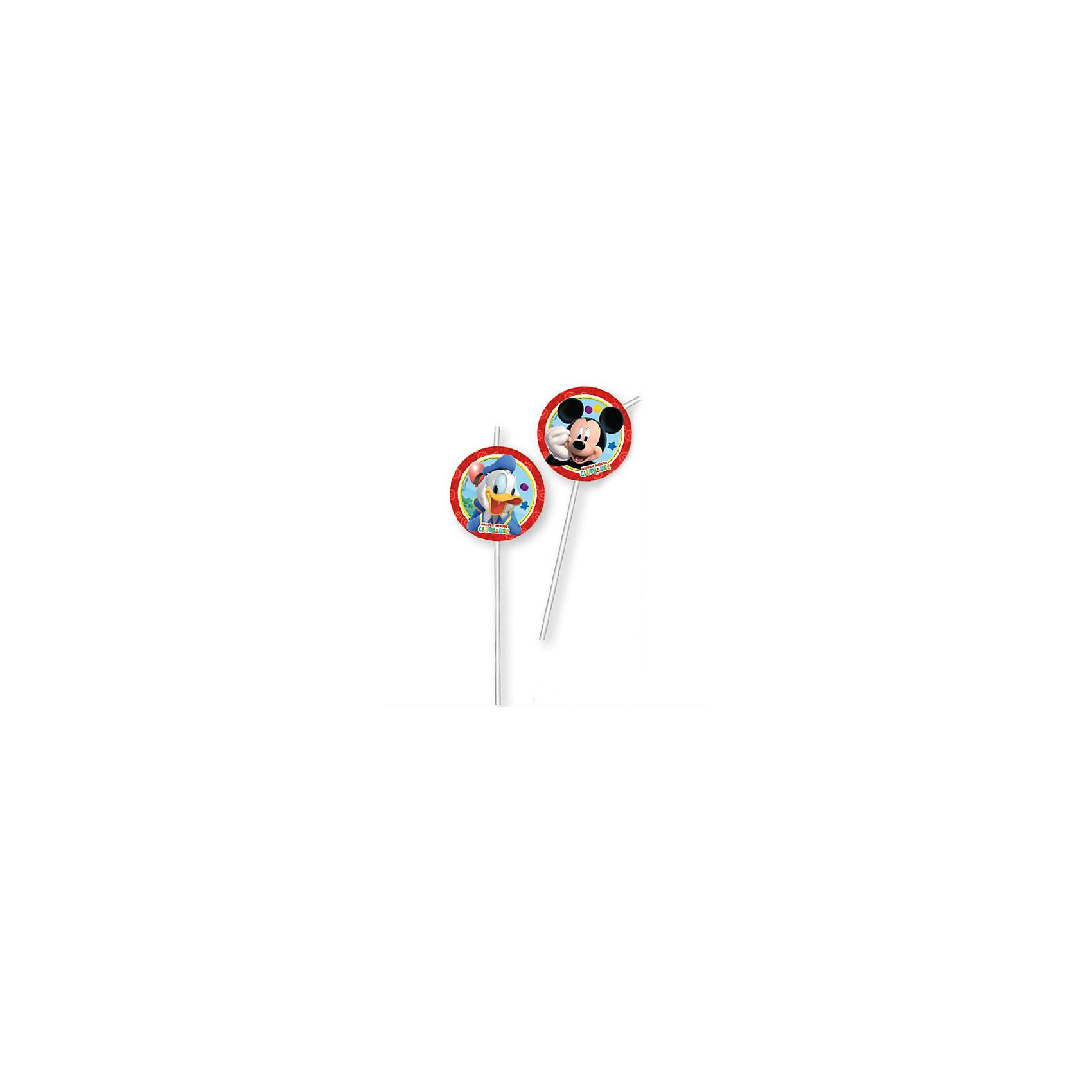 Соломка для напитков Веселый Микки, 6 шт.Микки Маус и его друзья<br>Соломка для напитков Веселый Микки  станет прекрасным украшением детского праздника и сделает его ярче и веселее. Комплект включает в себя 6 соломинок для напитков, украшенных изображениями мышонка Микки-Мауса и его друзей из популярных диснеевских мультфильмов. Соломка не токсична и безопасна для здоровья.<br><br>Дополнительная информация:<br><br>- В комплекте: 6 шт.<br>- Материал: пластик.<br>- Высота соломки: 24 см.<br>- Размер упаковки: 1,5 х 11 х 30,5 <br>- Вес: 12 гр.<br><br>Соломку для напитков Веселый Микки, 6 шт., можно купить в нашем интернет-магазине.<br><br>Ширина мм: 15<br>Глубина мм: 110<br>Высота мм: 305<br>Вес г: 12<br>Возраст от месяцев: 36<br>Возраст до месяцев: 84<br>Пол: Унисекс<br>Возраст: Детский<br>SKU: 4008377