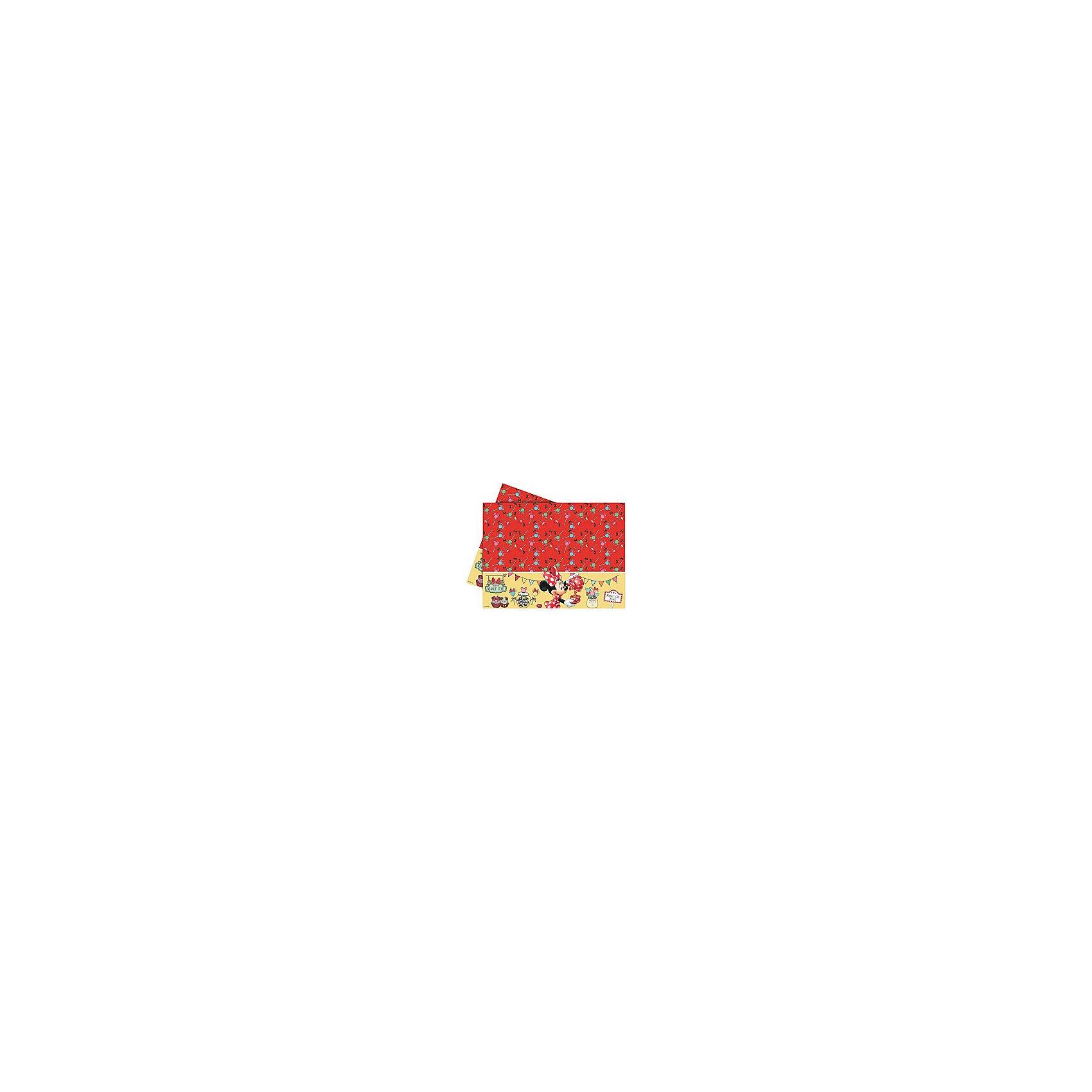 Скатерть Кафе Минни, 120x180 смКрасиво украсить праздничный стол на детском празднике Вам помогут посуда и аксессуары в стиле любимых детских персонажей. Нарядная красочная скатерть Кафе Минни выполнена по мотивам популярных диснеевских мультфильмов о мышонке Микки-Маусе и его подружке Минни и украшена изображениями забавной мышки. Этот симпатичный аксессуар поможет сделать детский праздник ярким и запоминающимся.<br><br>Дополнительная информация:<br><br>- Материал: полиэтилен. <br>- Размер скатерти: 120 х 180 см.<br>- Размер упаковки: 37 х 2 х 16 см.<br>- Вес: 110 гр.<br><br>Скатерть Кафе Минни можно купить в нашем интернет-магазине.<br><br>Ширина мм: 370<br>Глубина мм: 20<br>Высота мм: 160<br>Вес г: 110<br>Возраст от месяцев: 36<br>Возраст до месяцев: 84<br>Пол: Женский<br>Возраст: Детский<br>SKU: 4008394