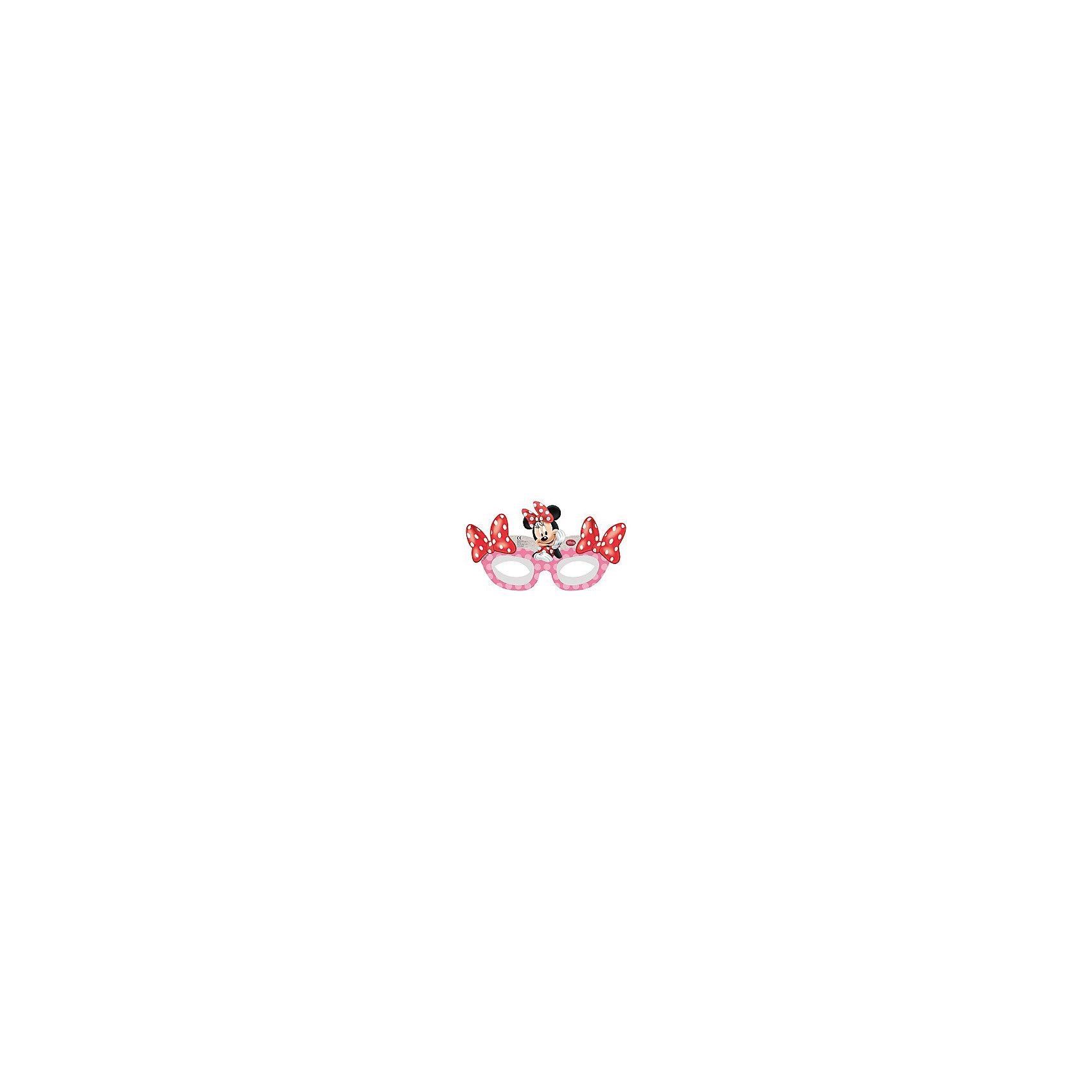 Маски Кафе Минни, 6 шт.Красиво оформить детский праздник, сделать его ярким и запоминающимся Вам помогут аксессуары и украшения в стиле любимых детских персонажей. Красочные маски Кафе Минни порадуют Вашу малышку и ее подруг и будут создавать атмосферу веселья и радости. Комплект включает в себя 6 бумажных масок, выполненных в виде веселой мышки Минни, подружки мышонка Микки-Мауса из популярных диснеевских мультфильмов. Маски изготовлены из высококачественных и нетоксичных материалов, которые совершенно безопасны для детского здоровья.<br><br>Дополнительная информация:<br><br>- В комплекте: 6 шт.<br>- Материал: бумага.<br>- Размер упаковки: 1,5 х 16,5 х 19 см.<br>- Вес: 43 гр.<br><br>Маски Кафе Минни,  6 шт., можно купить в нашем интернет-магазине.<br><br>Ширина мм: 15<br>Глубина мм: 165<br>Высота мм: 190<br>Вес г: 43<br>Возраст от месяцев: 36<br>Возраст до месяцев: 84<br>Пол: Женский<br>Возраст: Детский<br>SKU: 4008399