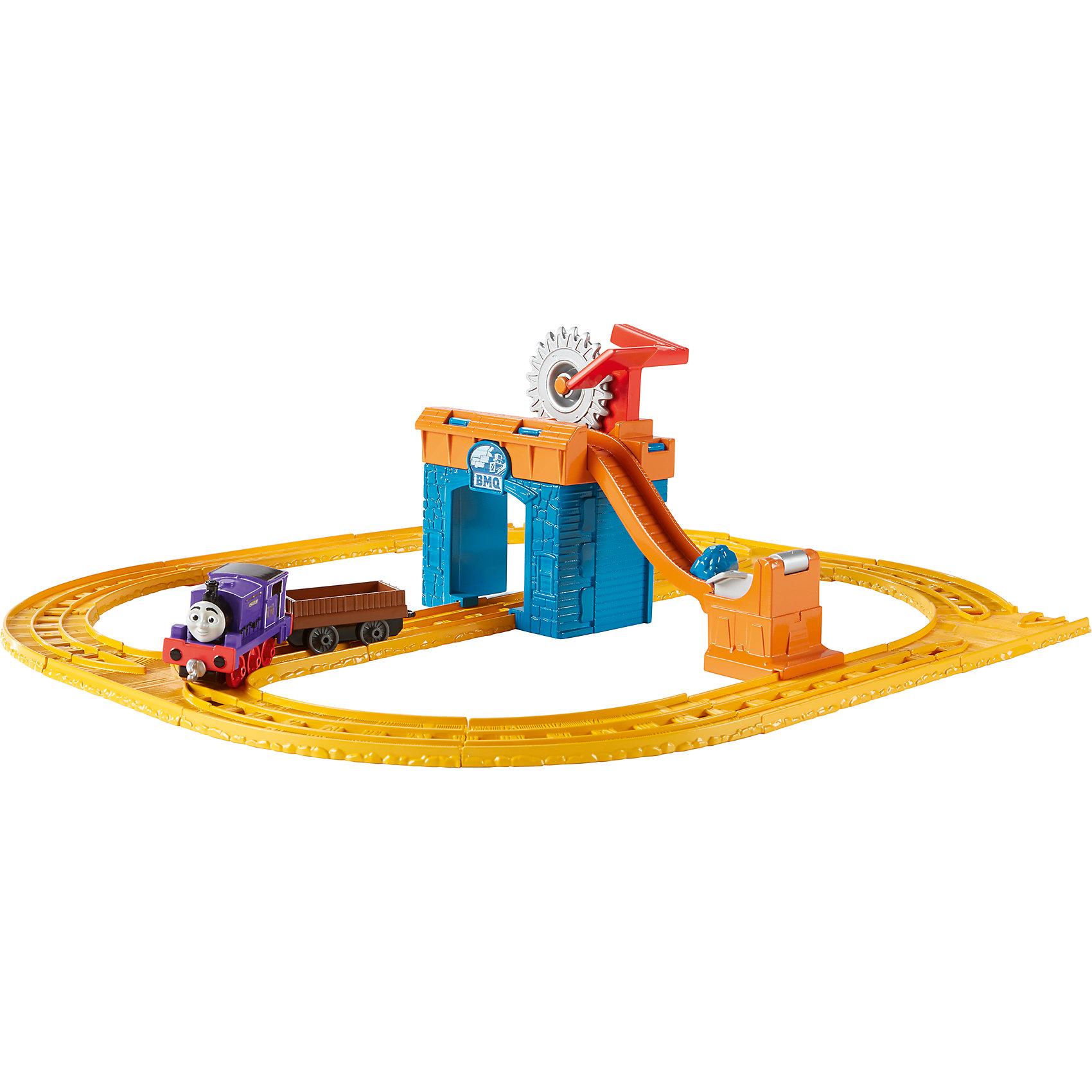 Mattel Игровой набор Паровозик Чарли за работой, Томас и его друзья mattel раскопки динозавров томас и его друзья