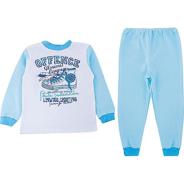 Пижама для мальчика KotMarKotПижамы и сорочки<br>Нарядная, комфортная пижама на весну и лето для вашего ребенка от российской  марки KotMarKot. Красочный принт, приятная натуральная ткань. Состав: 100% хлопок<br>Ширина мм: 281; Глубина мм: 70; Высота мм: 188; Вес г: 295; Цвет: голубой; Возраст от месяцев: 60; Возраст до месяцев: 60; Пол: Мужской; Возраст: Детский; Размер: 110; SKU: 4009745;