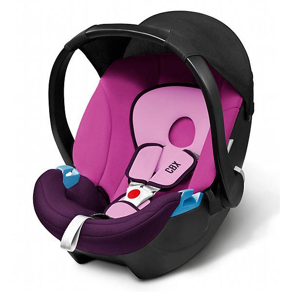 Автокресло CBX by Cybex Aton Basic , 0-13 кг, фиолетовыйГруппа 0+  (до 13 кг)<br>Легкое, комфортное ипросторное автокресло для самых маленьких сулучшенной, развитой боковой защитой. Солнцезащитный козырек защищает ребенка отпрямых солнечных лучей. Трехточечные ремни безопасности с мягкими накладками комфортно и надежно удержат малыша. Возможна установка нашасси колясок Cybex спомощью специальных адаптеров. Изогнутое основание позволяет укачивать малыша. Ручка для переноски имеет три положения. Обивка выполнена изгипоаллергенных тканей, легко снимаются для деликатной стирки. <br><br>Дополнительная информация:<br><br>- Материал: пластик, текстиль.<br>- Размер: 63х47х56 см.<br>- Вес кресла: 2,9 кг.<br>- Трехточечные ремни безопасности.<br>- Установка в автомобиле: против движения.<br>- Три положения ручки для переноски.<br>- Съемная обивка ( стирка при 30? ).<br>- Максимальный вес ребенка: 13 кг.<br>- Изогнутое основание.<br>- Солнцезащитный козырек.<br>- Цвет: фиолетовый.<br><br>Автокресло Aton Basic , 0-13 кг, CBX by Cybex (Сайбекс), фиолетовое можно купить в нашем магазине.<br>Ширина мм: 530; Глубина мм: 450; Высота мм: 700; Вес г: 8600; Возраст от месяцев: 0; Возраст до месяцев: 12; Пол: Женский; Возраст: Детский; SKU: 4009843;