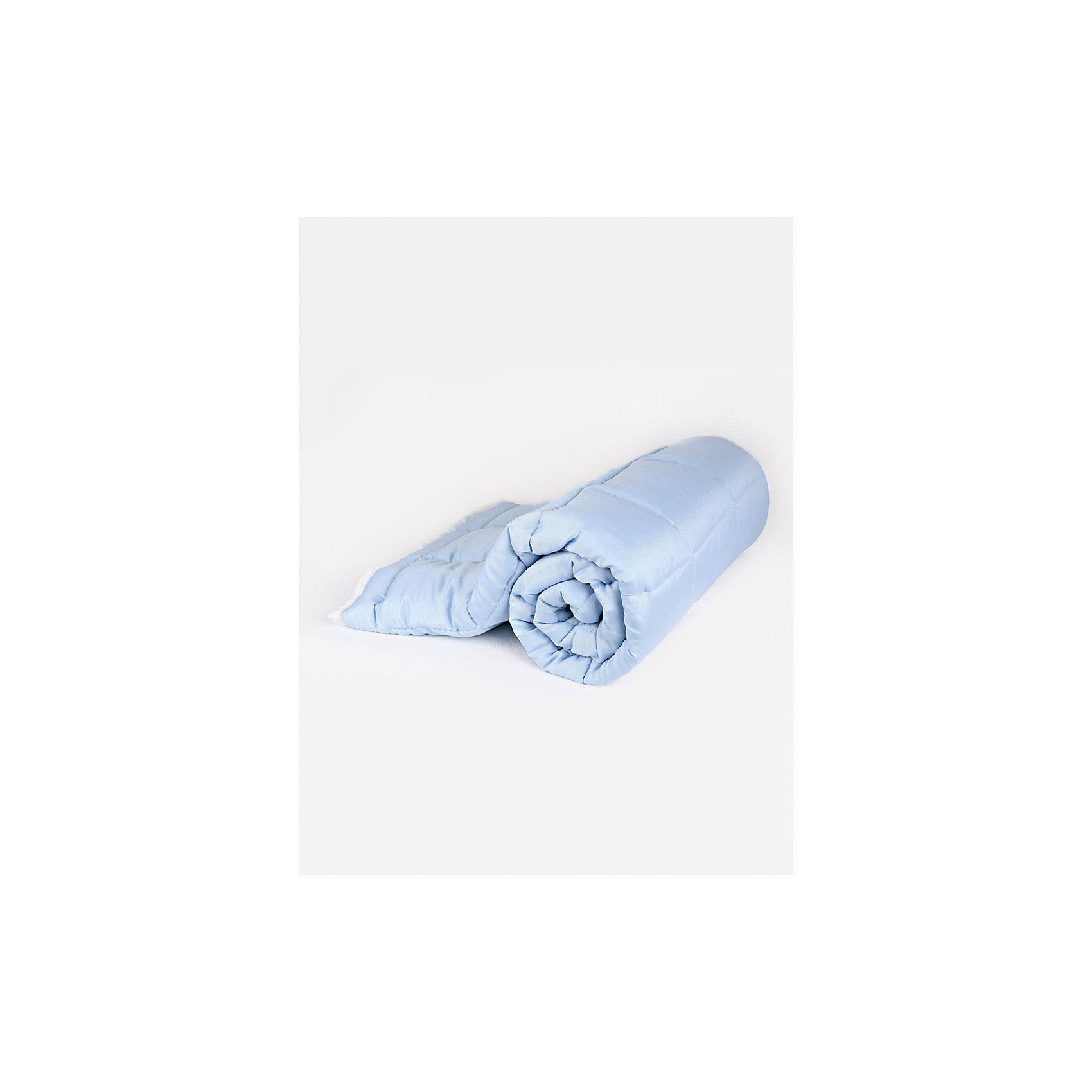 Baby Nice Одеяло стеганное 110х140 см, Baby Nice, голубой парео еватекс цвет персиковый к42 размер 110 см х 140 см