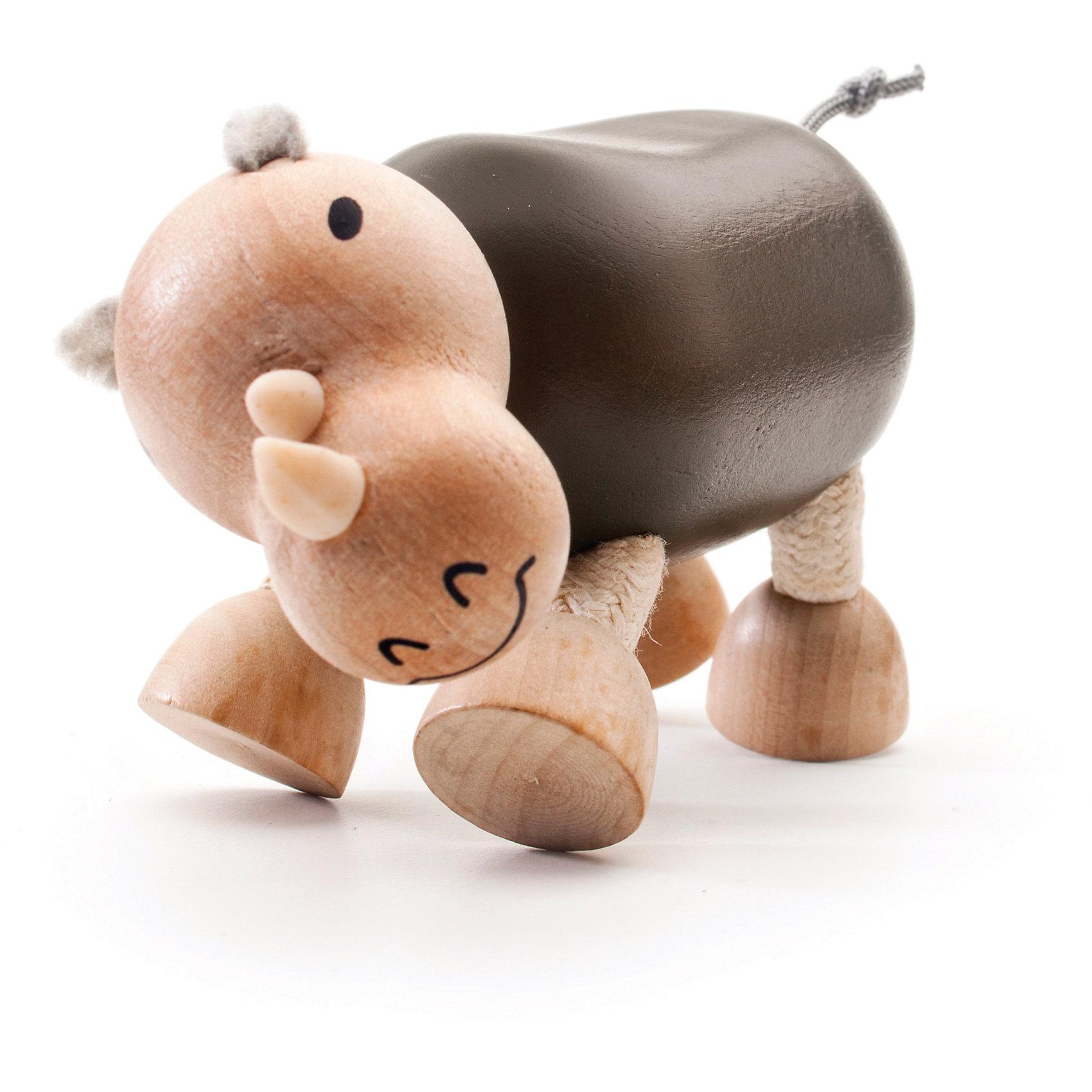 Носорог,  AnaMalzМилые деревянные зверюшки AnaMalz очаруют и детей и их родителей, а их трогательный внешний вид и оригинальный современный дизайн изменят Ваше привычное представление о деревянных игрушках. Придуманные австралийским дизайнером Луизой Косан-Скотт, деревянные фигурки покоряют своим уютом и пластичностью и уже завоевали множество наград, включая международную премию в области дизайна Standards Australia. Для изготовления игрушек используется быстрорастущее игольчатое дерево (schima superba), которое специально выращивают на плантациях. Отдельные детали зверюшек выполнены из натуральных тканей и термопластичной резины (TPR) - безопасного материала, который является экологичной альтернативой пластмассе. Все фигурки AnaMalz раскрашиваются вручную с использованием безопасной для детей краски.<br><br>Забавный разноцветный носорог AnaMalz с добродушной мордочкой займет достойное место среди игрушек Вашего ребенка. Голова, туловище и копыта фигурки выполнены из дерева и имеют гладкую, приятную на ощупь поверхность. У носорога мягкие ушки и хвостик-веревочка, ноги также сделаны из гибкой веревки и гнутся в разные стороны, что позволяет игрушке принимать различные позы. Носорог раскрашен вручную безопасными для детей красками. Фигурка, выполненная из дерева и различных фактур, способствует развитию у ребенка тактильного восприятия и мелкой моторики.<br><br>Дополнительная информация:<br><br>- Материал: дерево, ткань.<br>- Размер игрушки: 11 х 5 х 7 см.<br>- Вес: 88 гр.<br><br>Носорога, AnaMalz, можно купить в нашем интернет-магазине.<br><br>Ширина мм: 11<br>Глубина мм: 5<br>Высота мм: 7<br>Вес г: 88<br>Возраст от месяцев: 36<br>Возраст до месяцев: 168<br>Пол: Унисекс<br>Возраст: Детский<br>SKU: 4010633