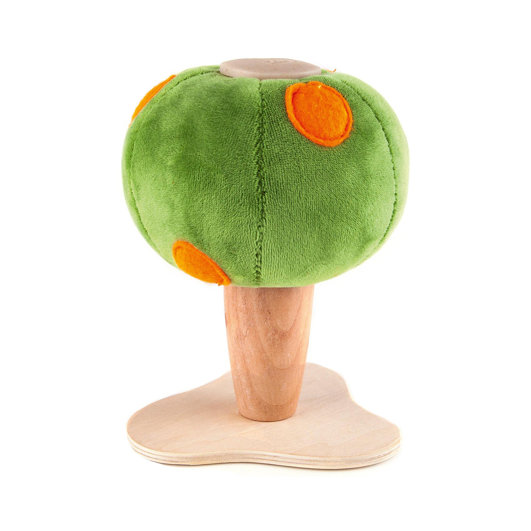 Апельсиновое дерево,  AnaMalzМир животных<br>Чудесные деревянные игрушки AnaMalz очаруют и детей и их родителей, а их трогательный внешний вид и оригинальный современный дизайн изменят Ваше привычное представление о деревянных игрушках. Придуманные австралийским дизайнером Луизой Косан-Скотт, деревянные фигурки покоряют своим уютом и пластичностью и уже завоевали множество наград, включая международную премию в области дизайна Standards Australia. Для изготовления игрушек используется быстрорастущее игольчатое дерево (schima superba), которое специально выращивают на плантациях. Отдельные детали зверюшек выполнены из натуральных тканей и термопластичной резины (TPR) - безопасного материала, который является экологичной альтернативой пластмассе. Все фигурки AnaMalz раскрашиваются вручную с использованием безопасной для детей краски.<br><br>Симпатичное апельсиновое деревце AnaMalz станет отличным дополнением к деревянным зверюшкам и красочной декорацией для множества игр. Ствол и основание игрушки выполнены из дерева и имеют гладкую, приятную на ощупь поверхность. Зеленая плюшевая крона украшена аппликацией из войлока в виде ярких апельсинов. Игрушка, выполненная из дерева и различных фактур, способствует развитию у ребенка тактильного восприятия и мелкой моторики.<br><br>Дополнительная информация:<br><br>- Материал: дерево, ткань.<br>- Размер игрушки: 11 х 11 х 16 см.<br>- Вес: 125 гр.<br><br>Апельсиновое дерево, AnaMalz, можно купить в нашем интернет-магазине.<br><br>Ширина мм: 11<br>Глубина мм: 11<br>Высота мм: 16<br>Вес г: 125<br>Возраст от месяцев: 36<br>Возраст до месяцев: 168<br>Пол: Унисекс<br>Возраст: Детский<br>SKU: 4010636