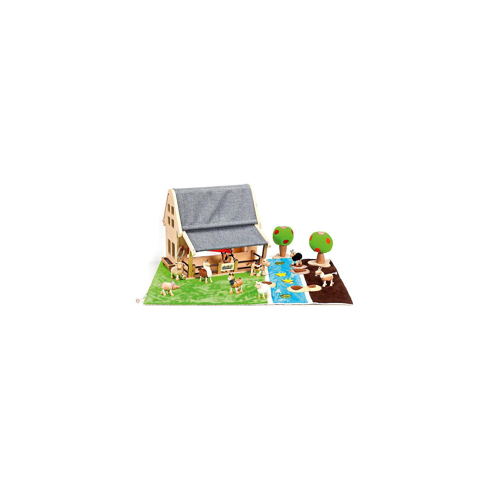 Игровое поле,  AnaMalzМир животных<br>Мягкий игровой коврик AnaMalz станет отличным дополнением к деревянным зверюшкам AnaMalz и декорацией для множества игр. Чудесные эко-игрушки AnaMalz были придуманы в 2007 году австралийским дизайнером Луизой Косан-Скотт и завоевали множество наград, включая международную премию в области дизайна Standards Australia. Для изготовления игрушек используются только высококачественные экологичные материалы - специальное игольчатое дерево (schima superba), натуральные ткани и термопластичная резина (TPR). Все фигурки AnaMalz раскрашиваются вручную с использованием безопасной для детей краски.<br><br>Дизайн коврика AnaMalz имитирует три природных ландшафта - поле с зеленой травкой, голубая полоска воды с рыбками и бурый пустынный участок. После игры коврик трансформируется в мешок, в котором можно хранить коллекцию фигурок AnaMalz (продаются отдельно). <br><br>Дополнительная информация:<br><br>- Материал: текстиль.<br>- Размер поля в разложенном виде: 62 х 82 х 1 см.<br>- Фигурки в комплект не входят!<br>- Вес: 0,35 кг.<br><br>Игровое поле, AnaMalz можно купить в нашем интернет-магазине.<br><br>Ширина мм: 62<br>Глубина мм: 82<br>Высота мм: 1<br>Вес г: 350<br>Возраст от месяцев: 36<br>Возраст до месяцев: 168<br>Пол: Унисекс<br>Возраст: Детский<br>SKU: 4010638