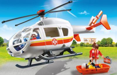 PLAYMOBIL® Детская клиника: Вертолет скорой помощи, PLAYMOBIL
