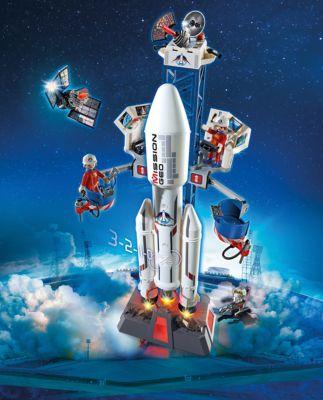 PLAYMOBILЃ осмическа¤ мисси¤: осмическа¤ ракета с базовой станцией, Playmobil