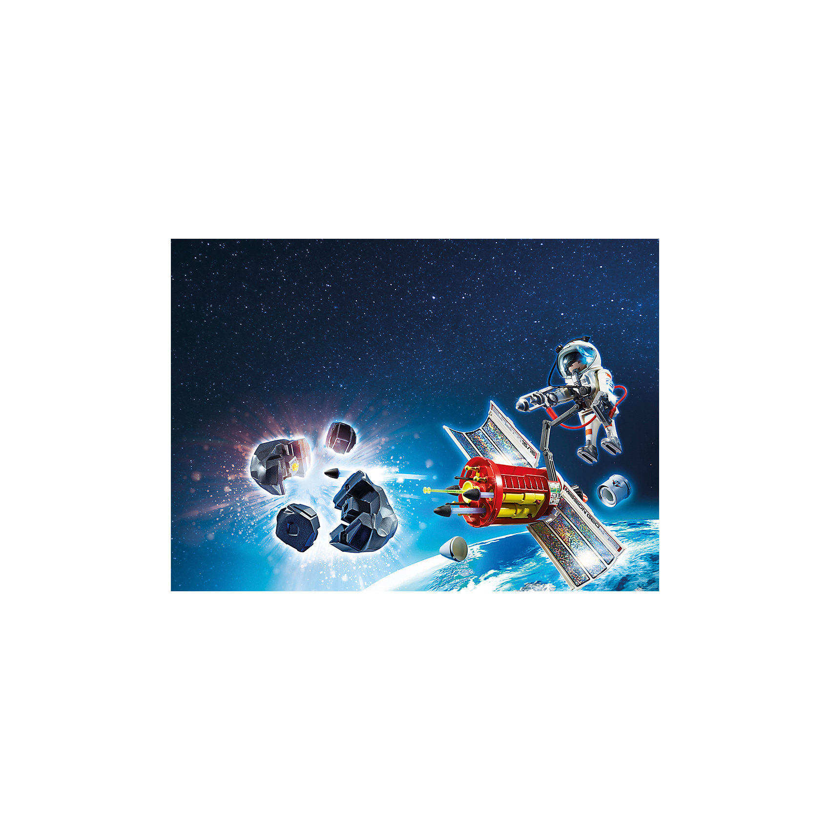 PLAYMOBIL® Космическая миссия: Спутниковый метеороидный лазер, PLAYMOBIL playmobil® зоопарк стая фламинго playmobil