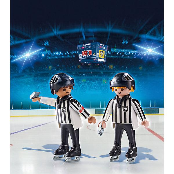 ДУО: Хоккейные арбитры, PLAYMOBILПластмассовые конструкторы<br>В этом наборе представлены два футбольных арбитра в форме и шлемах. Фигурки имеют подвижные конечности, в руки можно вложить различные вещи. Все детали набора прекрасно проработаны, выполнены из высококачественного пластика. Играть с таким набором не только приятно и интересно - подобные виды игры развивают мелкую моторику, воображение, творческое мышление.<br><br>Дополнительная информация:<br><br>- Комплектация: 2 фигурки, аксессуары.<br>- 2 фигурки в комплекте.<br>- Материал: пластик.<br>- Размер упаковки: 17х15х4 см.<br>- Высота фигурки: 7,5 см. <br>- Голова, руки, ноги у фигурок подвижные.<br><br>Набор ДУО: Хоккейные арбитры, PLAYMOBIL (Плеймобил), можно купить в нашем магазине.<br>Ширина мм: 170; Глубина мм: 149; Высота мм: 5; Вес г: 61; Возраст от месяцев: 60; Возраст до месяцев: 120; Пол: Мужской; Возраст: Детский; SKU: 4012493;