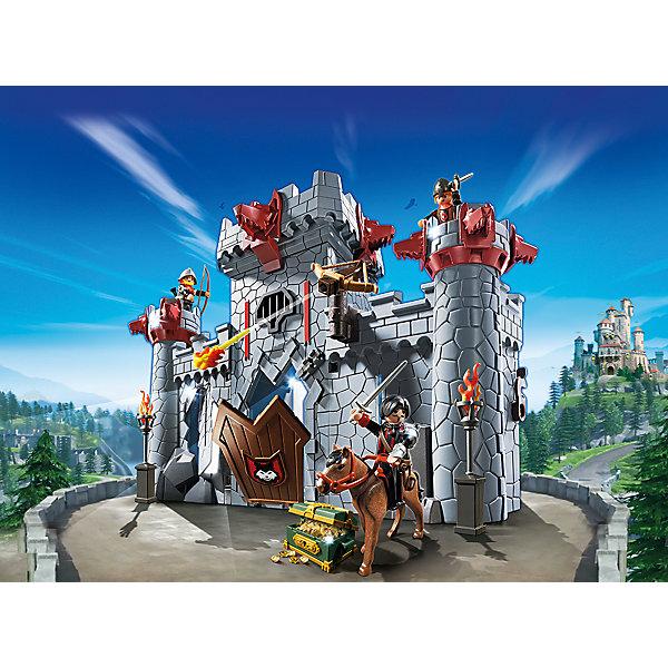 PLAYMOBIL 6697: Черный замок БаронаПластмассовые конструкторы<br>Конструктор PLAYMOBIL (Плеймобил) 6697: Черный замок Барона - прекрасная возможность для ребенка проявить свою фантазию! Времена доблестных рыцарей, прекрасных дам и захватывающих приключений всегда будут для детей очень интересными. С помощью деталей набора Черный замок Барона Вы сможете построить настоящий замок, полный ходов и ловушек. Прочные стены замка надежно охраняют рыцари на сторожевых башнях. Воры пробили дыру в стене и готовятся попасть внутрь! Сам Барон надел доспехи и поехал биться с захватчиками. Арбалет на стене стреляет без перерыва. Играть с конструктором очень интересно: конструкцию можно раскрыть, чтобы было удобно играть внутри. Конструктор Черный замок Барона дает ребенку множество игровых возможностей: в него интересно играть как одному, так и целой компанией. Создай увлекательные сюжеты с набором Черный замок Барона или объедини его с другими наборами серии и игра станет еще интереснее. Придумывая увлекательные сюжеты с деталями конструктора, Ваш ребенок развивает фантазию, мышление и просто прекрасно проводит время!<br><br>Дополнительная информация:<br><br>- Конструкторы PLAYMOBIL (Плеймобил) отлично развивают мелкую моторику, фантазию и воображение;<br>- В наборе: 3 минифигурки (Барон и два рыцаря), детали для строительства замка, лошадь, сокровище, оружие, аксессуары;<br>- Материал: безопасный пластик;<br>- Размер минифигурок: 7,5 см;<br>- Размер упаковки: 35 х 33 см;<br>- Вес: 1,4 кг<br><br>Конструктор PLAYMOBIL (Плеймобил) 6697: Черный замок Барона можно купить в нашем интернет-магазине.<br><br>Ширина мм: 388<br>Глубина мм: 350<br>Высота мм: 165<br>Вес г: 1368<br>Возраст от месяцев: 60<br>Возраст до месяцев: 120<br>Пол: Унисекс<br>Возраст: Детский<br>SKU: 4012510