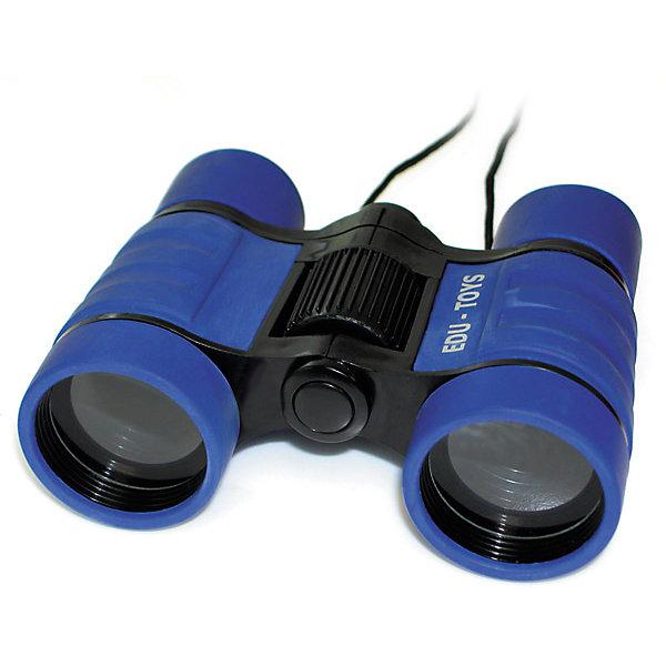 Бинокль 4*32, Edu-ToysТелескопы<br>Бинокль, Edu-Toys станет замечательным помощником для юного исследователя и поможет совершить множество веселых открытий. Высококачественная стеклянная оптика и диаметр объектива 32 мм. обеспечивают отличное качество изображения. 4-кратное увеличение бинокля позволяет наблюдать как относительно близко расположенные предметы, так и удаленные. Имеется регулировка расстояния между глазами. Корпус бинокля имеет прорезиненное влагозащищенное покрытие, которое предохраняет его от мелких повреждений и позволяет использовать в любых погодных условиях. Есть ремень для ношения на шее. В комплект также входит мягкий чехол на молнии для переноски и хранения бинокля.<br><br>Дополнительная информация:<br><br>- В комплекте: бинокль, ремень для ношения на шее, чехол для переноски и хранения. <br>- Материал: пластик, стекло. <br>- Диаметр объектива: 32 мм.<br>- Размер бинокля: 19,6 x 16,4 x 6,2 см.<br>- Вес: 0,2 кг.<br><br>Бинокль 4*32, Edu-Toys, можно купить в нашем интернет-магазине.<br><br>Ширина мм: 162<br>Глубина мм: 55<br>Высота мм: 150<br>Вес г: 220<br>Возраст от месяцев: 96<br>Возраст до месяцев: 144<br>Пол: Унисекс<br>Возраст: Детский<br>SKU: 4013702