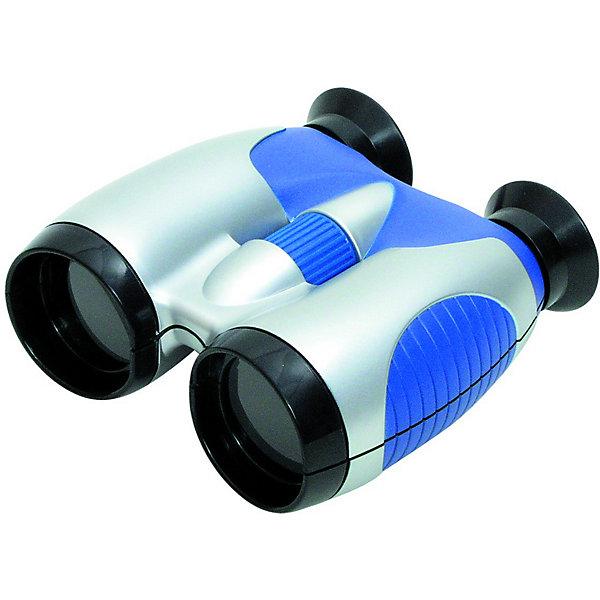 Бинокль, Edu-ToysНаборы шпиона<br>Бинокль, Edu-Toys станет замечательным помощником для юного исследователя и поможет совершить множество веселых открытий. Высококачественная стеклянная оптика и большой диаметр объектива 35 мм. обеспечивают отличное качество изображения. 4-кратное увеличение бинокля позволяет наблюдать как относительно близко расположенные предметы, так и удаленные. Мягкие резиновые накладки вокруг окуляра Имеется регулировка расстояния между глазами. Стильный сине-белый корпус бинокля имеет прорезиненное влагозащищенное покрытие, которое предохраняет его от мелких повреждений и позволяет использовать в любых погодных условиях. Есть ремень для ношения на шее. В комплект также входит мягкий чехол на молнии для переноски и хранения бинокля. <br> <br>Дополнительная информация:<br><br>- В комплекте: бинокль, ремень для ношения на шее, чехол для переноски и хранения. <br>- Материал: пластик, стекло. <br>- Диаметр объектива: 35 мм.<br>- Размер бинокля: 13 x 15 x 6 см.<br>- Вес: 0,2 кг.<br><br>Бинокль Edu-Toys, можно купить в нашем интернет-магазине.<br><br>Ширина мм: 130<br>Глубина мм: 58<br>Высота мм: 150<br>Вес г: 220<br>Возраст от месяцев: 72<br>Возраст до месяцев: 120<br>Пол: Унисекс<br>Возраст: Детский<br>SKU: 4013703