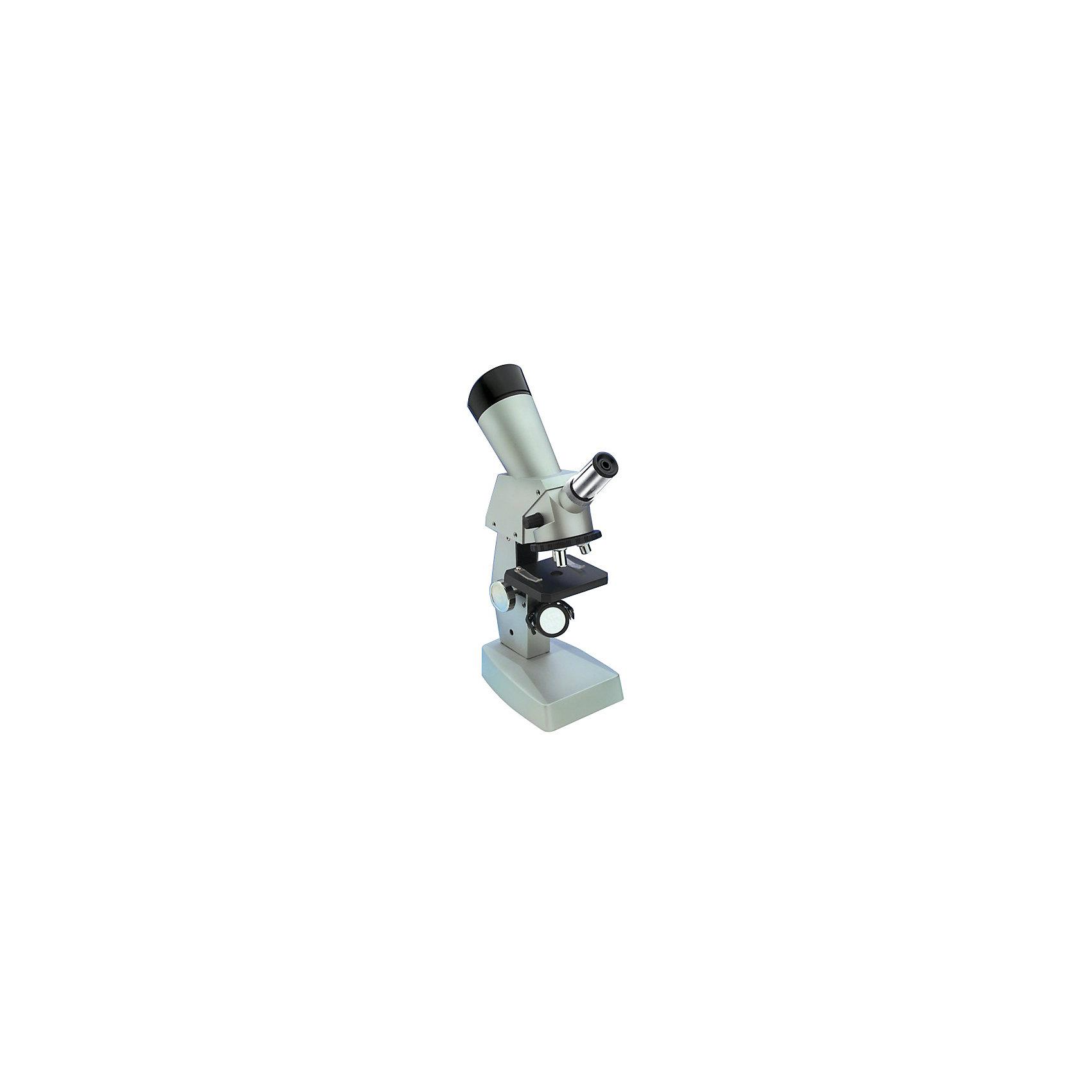 Микроскоп 100*300, Edu-ToysМикроскоп, Edu-Toys - необходимый инструмент для юного исследователя в его изучении окружающего мира и природы. Высококачественный окуляр микроскопа обеспечивает отличное качество изображения и дает увеличение в 100, 300 и 1000 крат. Специальная ручка фокусировки поможет наладить нужную резкость, а с помощью зеркала-отражателя Вы сможете настроить необходимое освещение для изучения препарата. Если яркости недостаточно, можно включить встроенную подсветку. <br><br>Прибор оснащен специальным предметным столиком с лапками-зажимами для микропрепаратов. Прочный корпус микроскопа выполнен из алюминия и имеет устойчивое основание, так что Вы можете не беспокоиться за его сохранность. В комплект также входит набор аксессуаров, с помощью которых можно провести множество увлекательных опытов и наблюдений, здесь Вы найдете и комплект микропрепаратов, и все необходимые инструменты и емкости. А встроенный проектор поможет юному биологу продемонстрировать результаты своих опытов родным и друзьям. Занятия с микроскопом способствуют формированию у ребенка научного подхода, расширяют кругозор, развивают любознательность и внимательность.<br><br>Дополнительная информация:<br><br>- В комплекте: микроскоп Edu-Toys MS008, набор готовых микропрепаратов, 12 предметных стекол, 12 покровных стекол, 12 пробирок со шкалой, 12 этикеток для препаратов, лупа,<br>  3х-6х, флакон с икринками креветок, флакон с красителем (метиловый синий), флакон с хлоридом натрия, 2 флакона для образцов, стеклянная палочка для перемешивания, чаша<br>  Петри, скальпель, игла, пинцет, шпатель (для посева культур), пипетка, мини-инкубатор для выращивания микробиологических культур, ножницы, запасная лампочка, защитные<br>  очки, мини-нож для изготовления препаратов, инструкция по эксплуатации. <br>- Материал: алюминий, пластик, стекло.<br>- Для подсветки требуются батарейки: 2 х АА (не входят в комплект).<br>- Высота микроскопа: 30 см.<br>- Размер упаковки: 33,4 х 10,8 х 46 см.<br>- Вес: 1