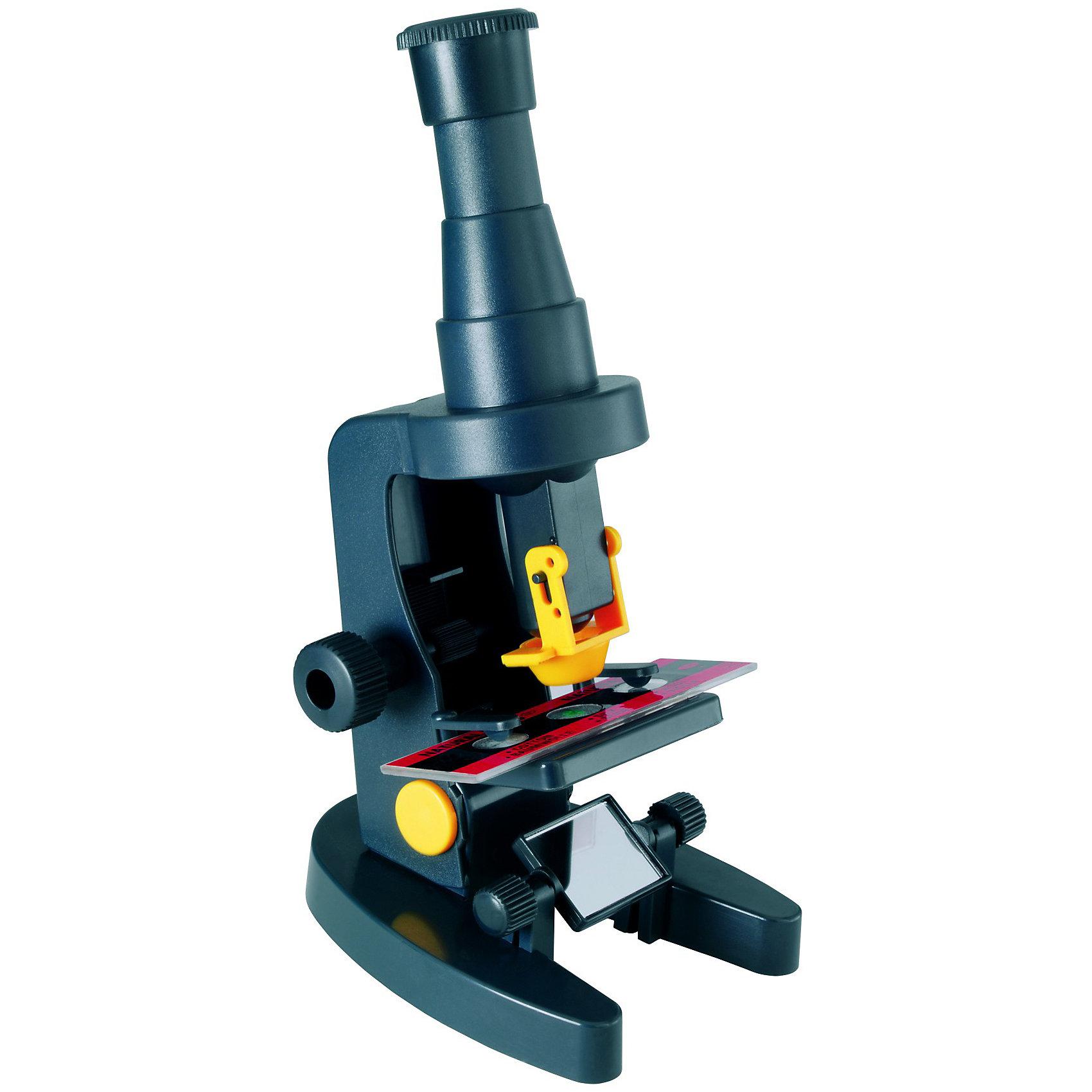 Микроскоп, Edu-ToysМикроскоп, Edu-Toys - компактный детский микроскоп, который замечательно подойдет для первого знакомства Вашего ребенка с микромиром. С его помощью он сможет провести множество увлекательных опытов и наблюдений как дома так и на природе. Высококачественный окуляр микроскопа обеспечивает отличное качество изображения и дает увеличение 100 и 150 крат. Специальное колесико фокусировки поможет наладить нужную резкость, а с помощью зеркала-отражателя Вы сможете настроить необходимое освещение для изучения препарата.<br><br>Прибор оснащен специальным предметным столиком с лапками-держателями для микропрепаратов. В комплект также входит готовый микропрепарат и инструкция. Занятия с микроскопом способствуют формированию у ребенка научного подхода, расширяют кругозор, развивают любознательность и внимательность.<br><br>Дополнительная информация:<br><br>- В комплекте: микроскоп Edu-Toys MS015, готовый микропрепарат, инструкция.<br>- Материал: металл, пластик, стекло.<br>- Высота: 18 см.<br>- Размер упаковки: 5,3 х 26,6 х 7 см.<br>- Вес: 150 гр.<br><br>Микроскоп, Edu-Toys, можно купить в нашем интернет-магазине.<br><br>Ширина мм: 53<br>Глубина мм: 266<br>Высота мм: 70<br>Вес г: 150<br>Возраст от месяцев: 96<br>Возраст до месяцев: 144<br>Пол: Унисекс<br>Возраст: Детский<br>SKU: 4013714
