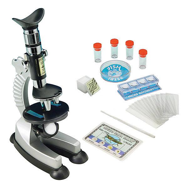 Микроскоп 100*750, Edu-ToysМикроскопы<br>Микроскоп, Edu-Toys - компактный детский микроскоп, который замечательно подойдет для первого знакомства Вашего ребенка с микромиром. Микроскоп оснащен револьверной головкой с тремя объективами, которые обеспечивают плавную смену увеличений от 100 до 750 крат. Специальное колесико фокусировки поможет наладить нужную резкость, а с помощью зеркала-отражателя Вы сможете настроить необходимое освещение для изучения препарата. Если яркости недостаточно, можно воспользоваться встроенной подсветкой, расположенной у основания прибора.<br><br>Прибор оснащен специальным предметным столиком круглой формы с лапками-держателями для микропрепаратов. Устойчивое основание микроскопа гарантирует сохранность препарата во время работы. Микроскоп также выполняет функцию проектора: направив его на белую гладкую поверхность в темной комнате, можно просматривать слайды с микропрепаратами в увеличенном виде. В комплект также входит набор аксессуаров, с помощью которых можно самостоятельно готовить микропрепараты и проводить увлекательные опыты и наблюдения. Занятия с микроскопом способствуют формированию у ребенка научного подхода, расширяют кругозор, развивают любознательность и внимательность.<br><br>Дополнительная информация:<br><br>- В комплекте: микроскоп MS701, готовый микропрепарат, мини-нож для изготовления препаратов, 12 предметных стекол, 12 покровных стекол, 12 этикеток для препаратов, 4<br>  пробирки, стеклянная палочка для перемешивания, чашка Петри, запасная лампочка, инструкция. <br>- Материал: металл, пластик, стекло.<br>- Для подсветки требуются батарейки: 2 х АА (не входят в комплект).<br>- Высота: 23 см.<br>- Размер микроскопа: 15 х 10 х 23 см.<br>- Вес: 0,7 кг.<br><br>Микроскоп 100*750, Edu-Toys, можно купить в нашем интернет-магазине.<br><br>Ширина мм: 300<br>Глубина мм: 95<br>Высота мм: 350<br>Вес г: 700<br>Возраст от месяцев: 96<br>Возраст до месяцев: 144<br>Пол: Унисекс<br>Возраст: Детский<br>SKU: 4013716