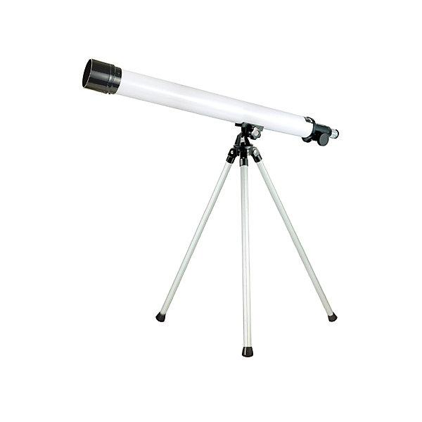 Телескоп, Edu-ToysТелескопы<br>Телескоп, Edu-Toys, станет замечательным помощником для юного исследователя и поможет вести увлекательные наблюдения за окружающим миром и звездным небом. Прибор представляет собой наземную трубу (тубус) на алюминиевом штативе. Окуляры с увеличением 35х и 50х дают возможность вести наблюдение за разными типами объектов. Специальная ручка регулировки поможет наладить нужную резкость и сделать наблюдаемый объект четче. Телескоп также оборудован видоискателем, зеркалом-отражателем диаметром 5 см. и увеличительной трубкой для линз.<br> <br>Дополнительная информация:<br><br>- Материал: металл, стекло. <br>- Длина корпуса телескопа: 65 см.<br>- Высота штатива: 45 см.<br>- Диаметр объектива: 76 мм.<br>- Диаметр зеркала-отражателя: 50 мм.<br>- Фокусируемая длина: 500 мм.<br>- Окуляры: 35х, 50х.<br>- Видоискатель 6/25 мм.<br>- Размер упаковки: 21 х 7,6 х 70 см.<br>- Вес: 1,21 кг.<br><br>Телескоп, Edu-Toys, можно купить в нашем интернет-магазине.<br><br>Ширина мм: 700<br>Глубина мм: 76<br>Высота мм: 210<br>Вес г: 1210<br>Возраст от месяцев: 96<br>Возраст до месяцев: 144<br>Пол: Унисекс<br>Возраст: Детский<br>SKU: 4013731