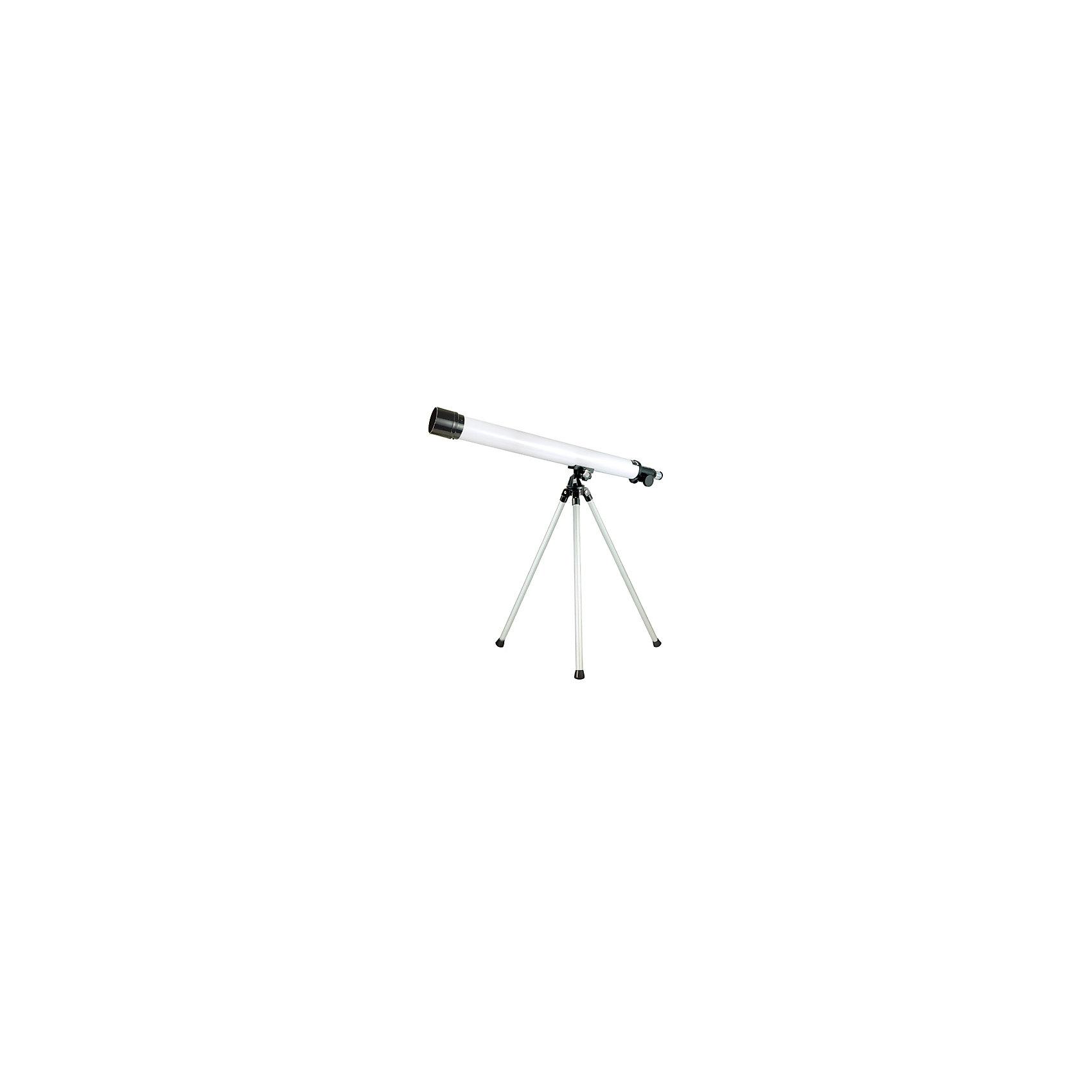 Телескоп, Edu-ToysТелескоп, Edu-Toys, станет замечательным помощником для юного исследователя и поможет вести увлекательные наблюдения за окружающим миром и звездным небом. Прибор представляет собой наземную трубу (тубус) на алюминиевом штативе. Окуляры с увеличением 35х и 50х дают возможность вести наблюдение за разными типами объектов. Специальная ручка регулировки поможет наладить нужную резкость и сделать наблюдаемый объект четче. Телескоп также оборудован видоискателем, зеркалом-отражателем диаметром 5 см. и увеличительной трубкой для линз.<br> <br>Дополнительная информация:<br><br>- Материал: металл, стекло. <br>- Длина корпуса телескопа: 65 см.<br>- Высота штатива: 45 см.<br>- Диаметр объектива: 76 мм.<br>- Диаметр зеркала-отражателя: 50 мм.<br>- Фокусируемая длина: 500 мм.<br>- Окуляры: 35х, 50х.<br>- Видоискатель 6/25 мм.<br>- Размер упаковки: 21 х 7,6 х 70 см.<br>- Вес: 1,21 кг.<br><br>Телескоп, Edu-Toys, можно купить в нашем интернет-магазине.<br><br>Ширина мм: 700<br>Глубина мм: 76<br>Высота мм: 210<br>Вес г: 1210<br>Возраст от месяцев: 96<br>Возраст до месяцев: 144<br>Пол: Унисекс<br>Возраст: Детский<br>SKU: 4013731