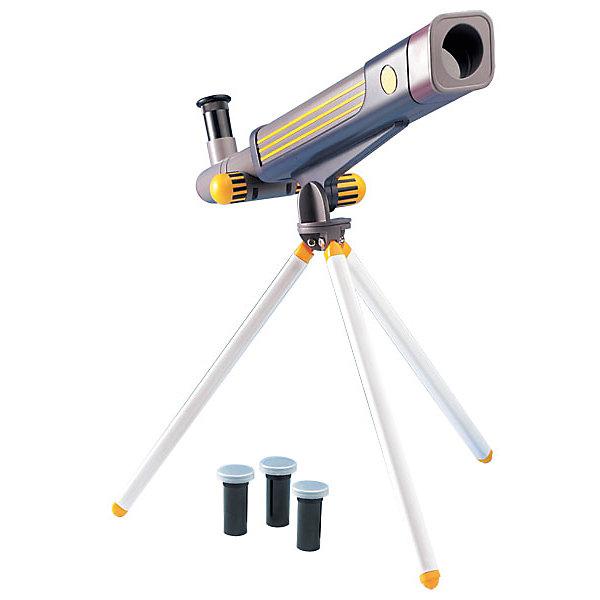 Телескоп 20*40*60, Edu-ToysТелескопы<br>Телескоп, Edu-Toys, станет замечательным помощником для юного исследователя и поможет вести увлекательные наблюдения за окружающим миром и звездным небом. Прибор представляет собой металлический корпус, который следует закрепить на штативе-треноге. Сменные окуляры с увеличением 20х, 40х, 60х дают возможность вести наблюдение за разными типами объектов. Специальная ручка регулировки поможет наладить нужную резкость и сделать наблюдаемый объект четче. Телескоп также оборудован видоискателем, зеркалом-отражателем и увеличительной трубкой для линз.<br><br>Дополнительная информация:<br><br>- В комплекте: телескоп, руководство по эксплуатации.<br>- Материал: металл, пластик. <br>- Длина корпуса телескопа: 41 см.<br>- Высота штатива: 25 см.<br>- Диаметр объектива: 30 мм.<br>- Диаметр зеркала-отражателя: 30 мм.<br>- Окуляры: 20х, 40х, 60х.  <br>- Фокусируемая длина: 600 мм.<br>- Видоискатель 6/25 мм.<br>- Размер упаковки: 17,5 х 9,5 х 45,5 см.<br>- Вес: 0,76 кг.<br><br>Телескоп 20*40*60, Edu-Toys, можно купить в нашем интернет-магазине.<br>Ширина мм: 455; Глубина мм: 95; Высота мм: 175; Вес г: 760; Возраст от месяцев: 96; Возраст до месяцев: 144; Пол: Унисекс; Возраст: Детский; SKU: 4013733;