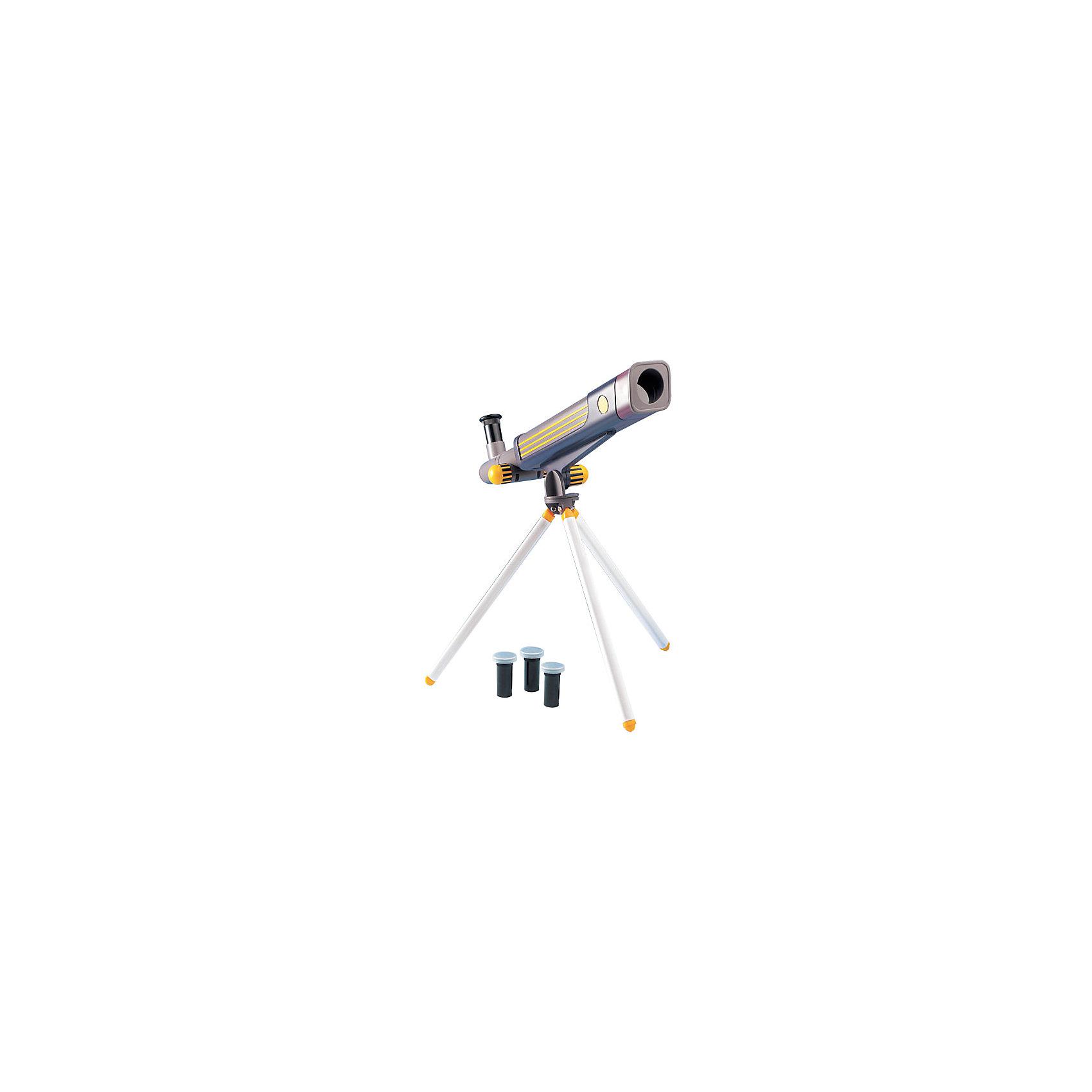 Телескоп 20*40*60, Edu-ToysТелескоп, Edu-Toys, станет замечательным помощником для юного исследователя и поможет вести увлекательные наблюдения за окружающим миром и звездным небом. Прибор представляет собой металлический корпус, который следует закрепить на штативе-треноге. Сменные окуляры с увеличением 20х, 40х, 60х дают возможность вести наблюдение за разными типами объектов. Специальная ручка регулировки поможет наладить нужную резкость и сделать наблюдаемый объект четче. Телескоп также оборудован видоискателем, зеркалом-отражателем и увеличительной трубкой для линз.<br><br>Дополнительная информация:<br><br>- В комплекте: телескоп, руководство по эксплуатации.<br>- Материал: металл, пластик. <br>- Длина корпуса телескопа: 41 см.<br>- Высота штатива: 25 см.<br>- Диаметр объектива: 30 мм.<br>- Диаметр зеркала-отражателя: 30 мм.<br>- Окуляры: 20х, 40х, 60х.  <br>- Фокусируемая длина: 600 мм.<br>- Видоискатель 6/25 мм.<br>- Размер упаковки: 17,5 х 9,5 х 45,5 см.<br>- Вес: 0,76 кг.<br><br>Телескоп 20*40*60, Edu-Toys, можно купить в нашем интернет-магазине.<br><br>Ширина мм: 455<br>Глубина мм: 95<br>Высота мм: 175<br>Вес г: 760<br>Возраст от месяцев: 96<br>Возраст до месяцев: 144<br>Пол: Унисекс<br>Возраст: Детский<br>SKU: 4013733