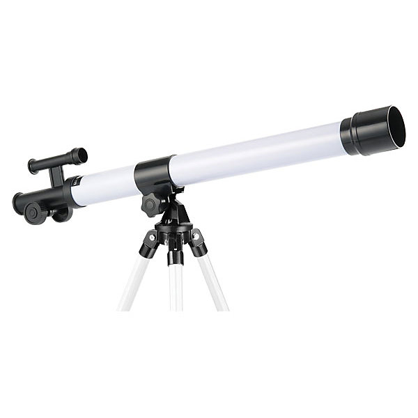 Телескоп, Edu-ToysТелескопы<br>Телескоп, Edu-Toys, станет замечательным помощником для юного исследователя и поможет вести увлекательные наблюдения за окружающим миром и звездным небом. Прибор представляет собой трубу (тубус), закрепленную на штативе-треноге и способен увеличивать объекты в 45 раз. Высококачественное изображение позволяет детально рассмотреть кратеры на лунной поверхности и другие планеты Солнечной системы. Специальная ручка регулировки поможет наладить нужную резкость и сделать наблюдаемый объект четче. Телескоп также оборудован видоискателем и зеркалом-отражателем для наблюдения за теневыми участками.<br> <br>Дополнительная информация:<br><br>- В комплекте: телескоп, штатив, руководство по эксплуатации.<br>- Материал: металл, пластик. <br>- Длина корпуса телескопа: 58 см.<br>- Высота штатива: 25 см.<br>- Диаметр объектива: 40 мм.<br>- Фокусируемая длина: 600 мм.<br>- Максимальное увеличение: 45х.<br>- Размер упаковки: 18,5 х 6,5 х 66 см.<br>- Вес: 0,87 кг.<br><br>Телескоп, Edu-Toys, можно купить в нашем интернет-магазине.<br>Ширина мм: 660; Глубина мм: 65; Высота мм: 185; Вес г: 870; Возраст от месяцев: 96; Возраст до месяцев: 144; Пол: Унисекс; Возраст: Детский; SKU: 4013734;