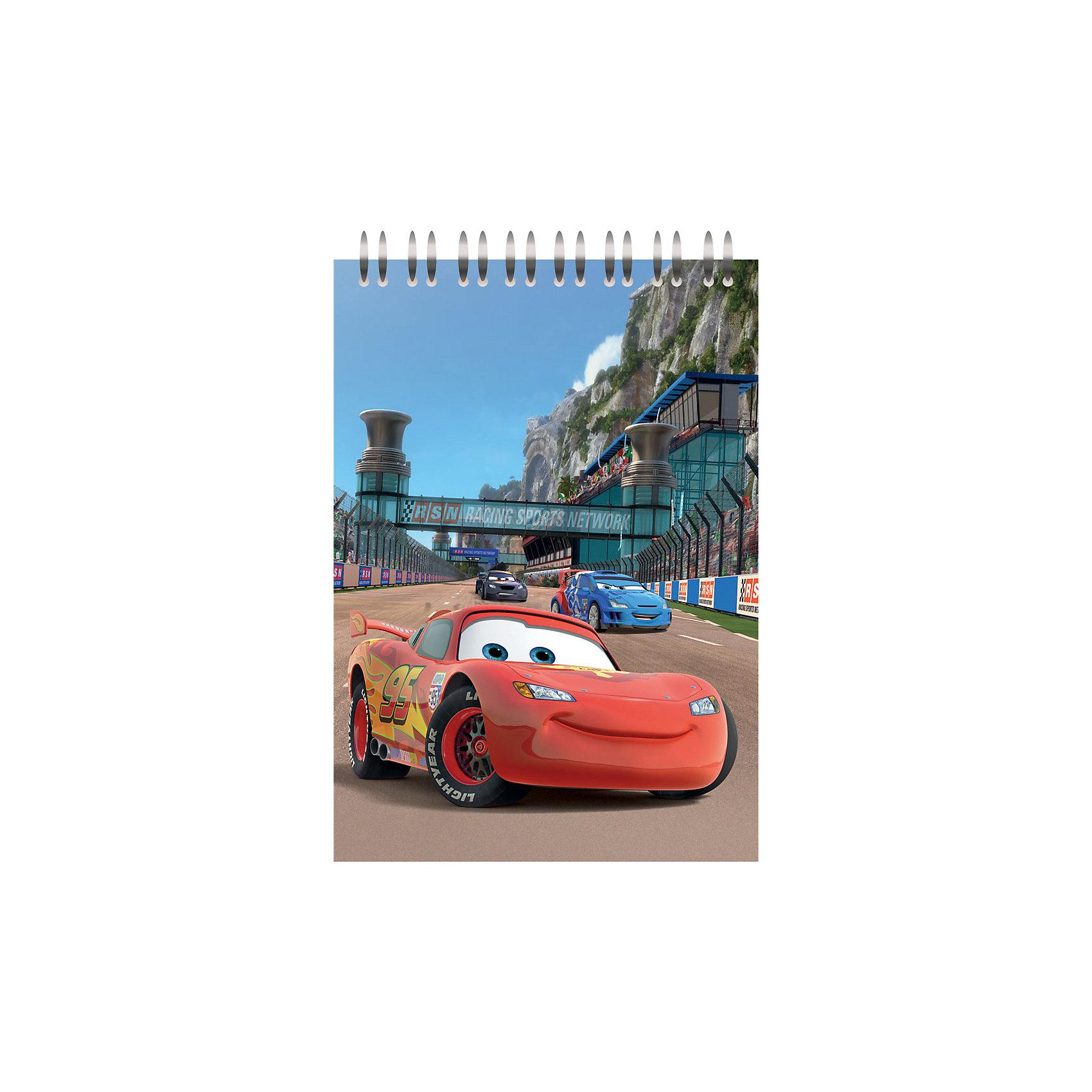 Блокнот А5 в клетку 60л, Disney ТачкиТачки<br>Блокнот А5 в клетку 60л, Disney (Дисней) Тачки с изображением персонажа МакКуина из одноименного мультфильма Дисней. Пластиковая обложка надежно защищает бумагу от деформации и загрязнений. <br>Внутренний блок, скрепленный по верхнему краю при помощи гребня, состоит из 60 страниц с разлиновкой в клетку. <br><br>Дополнительная информация:<br>-Серия: Коты-Аристократы, Дисней<br>-Материалы: пластик, высококачественная белая бумага <br>-Формат: А5 (148?210 мм)<br>-Размеры в упаковке: 10х210х150 мм<br>-Вес в упаковке: 136 г<br><br>Удобный блокнот на спирали «Тачки» с листами в клеточку обязательно понравится любому мальчику и отлично подойдет для его записей и рисунков.<br> <br>Блокнот А5 в клетку 60л, Disney (Дисней) Тачки можно купить в нашем магазине.<br><br>Ширина мм: 10<br>Глубина мм: 210<br>Высота мм: 150<br>Вес г: 136<br>Возраст от месяцев: 48<br>Возраст до месяцев: 144<br>Пол: Мужской<br>Возраст: Детский<br>SKU: 4014054