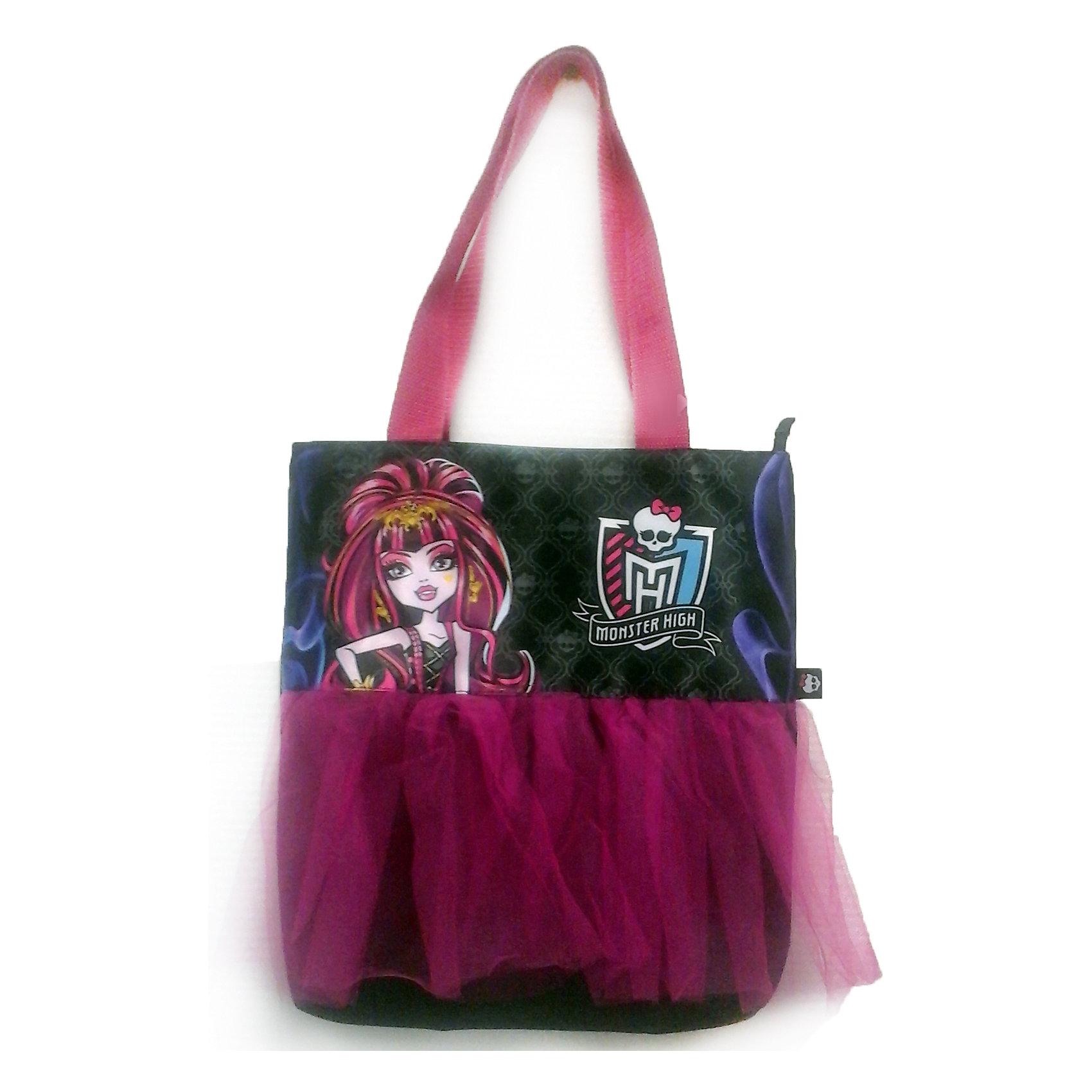 Сумка на молнии, Monster High