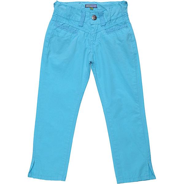 Брюки для девочки Sweet BerryБрюки<br>Текстильные летние брюки. Декорированы ажурной тесьмой. Снизу небольшие разрезы. Пояс регулируется внутренней резинкой.<br>Состав:<br>100% хлопок<br>Ширина мм: 215; Глубина мм: 88; Высота мм: 191; Вес г: 336; Цвет: голубой; Возраст от месяцев: 48; Возраст до месяцев: 60; Пол: Женский; Возраст: Детский; Размер: 110,122,128,98,104,116; SKU: 4019363;