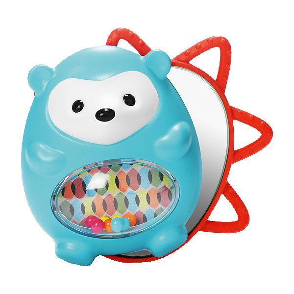 Развивающая игрушка Ежик с сюрпризом, Skip HopИгрушки для новорожденных<br>Развивающая игрушка Ежик с сюрпризом, Skip Hop<br><br>Характеристики:<br><br>• В набор входит: игрушка<br>• Состав: пластик<br>• Размер: 12 * 7,5 * 11,5 см.<br>• Для детей в возрасте: от 6 месяцев<br>• Страна производитель: Китай<br><br>Игрушка изготовлена по современным технологиям и исключает добавление вредных для малышей компонентов. Две детали этого ёжика издают треск при повороте, а в центре скрыт сюрприз – безопасное зеркальце для малышей. Функциональная игрушка оснащена окошком с цветными шариками, а по краям расположены прорезиненые детали, которые помогут зубкам прорезаться. <br><br>Благодаря удобному размеру ёжика легко хватать ручками и с ним приятно играть даже маленьким. Игрушка сочетает в себе сразу несколько цветов, чтобы привлечь внимание малыша и научить его разным оттенкам. Играя с этой игрушкой малыш сможет развивать логическое мышление, звуковое, зрительное и тактильное восприятие, а также моторику рук. <br><br>Развивающую игрушку Ежик с сюрпризом, Skip Hop можно купить в нашем интернет-магазине.<br>Ширина мм: 198; Глубина мм: 147; Высота мм: 76; Вес г: 153; Цвет: mehrfarbig; Возраст от месяцев: 1; Возраст до месяцев: 36; Пол: Унисекс; Возраст: Детский; SKU: 4021565;