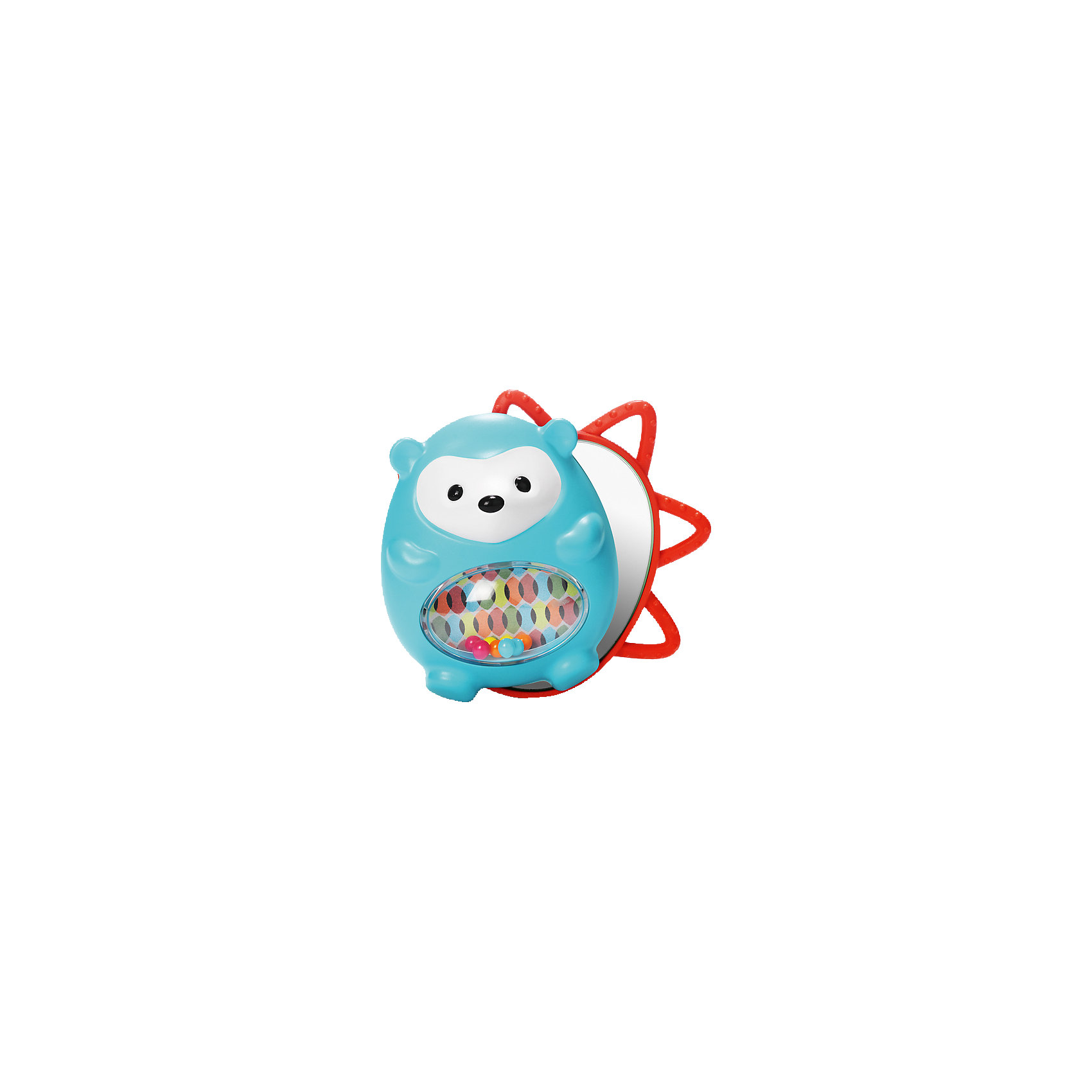 Развивающая игрушка Ежик с сюрпризом, Skip HopРазвивающие игрушки<br>Развивающая игрушка Ежик с сюрпризом, Skip Hop<br><br>Характеристики:<br><br>• В набор входит: игрушка<br>• Состав: пластик<br>• Размер: 12 * 7,5 * 11,5 см.<br>• Для детей в возрасте: от 6 месяцев<br>• Страна производитель: Китай<br><br>Игрушка изготовлена по современным технологиям и исключает добавление вредных для малышей компонентов. Две детали этого ёжика издают треск при повороте, а в центре скрыт сюрприз – безопасное зеркальце для малышей. Функциональная игрушка оснащена окошком с цветными шариками, а по краям расположены прорезиненые детали, которые помогут зубкам прорезаться. <br><br>Благодаря удобному размеру ёжика легко хватать ручками и с ним приятно играть даже маленьким. Игрушка сочетает в себе сразу несколько цветов, чтобы привлечь внимание малыша и научить его разным оттенкам. Играя с этой игрушкой малыш сможет развивать логическое мышление, звуковое, зрительное и тактильное восприятие, а также моторику рук. <br><br>Развивающую игрушку Ежик с сюрпризом, Skip Hop можно купить в нашем интернет-магазине.<br><br>Ширина мм: 198<br>Глубина мм: 147<br>Высота мм: 76<br>Вес г: 153<br>Цвет: mehrfarbig<br>Возраст от месяцев: 1<br>Возраст до месяцев: 36<br>Пол: Унисекс<br>Возраст: Детский<br>SKU: 4021565