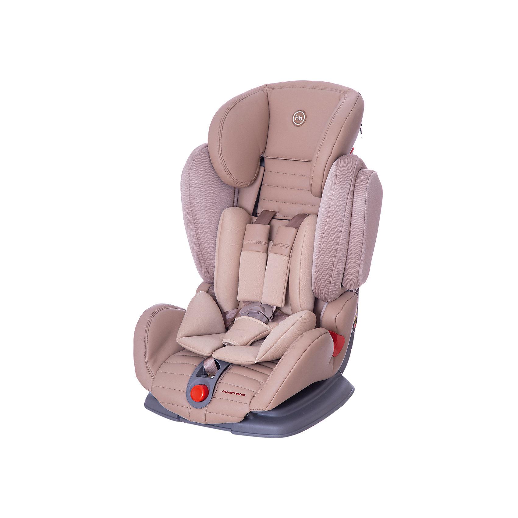 Happy Baby Автокресло Mustang, 9-36 кг., Happy Baby, бежевый автокресло happy baby happy baby автокресло mustang grey