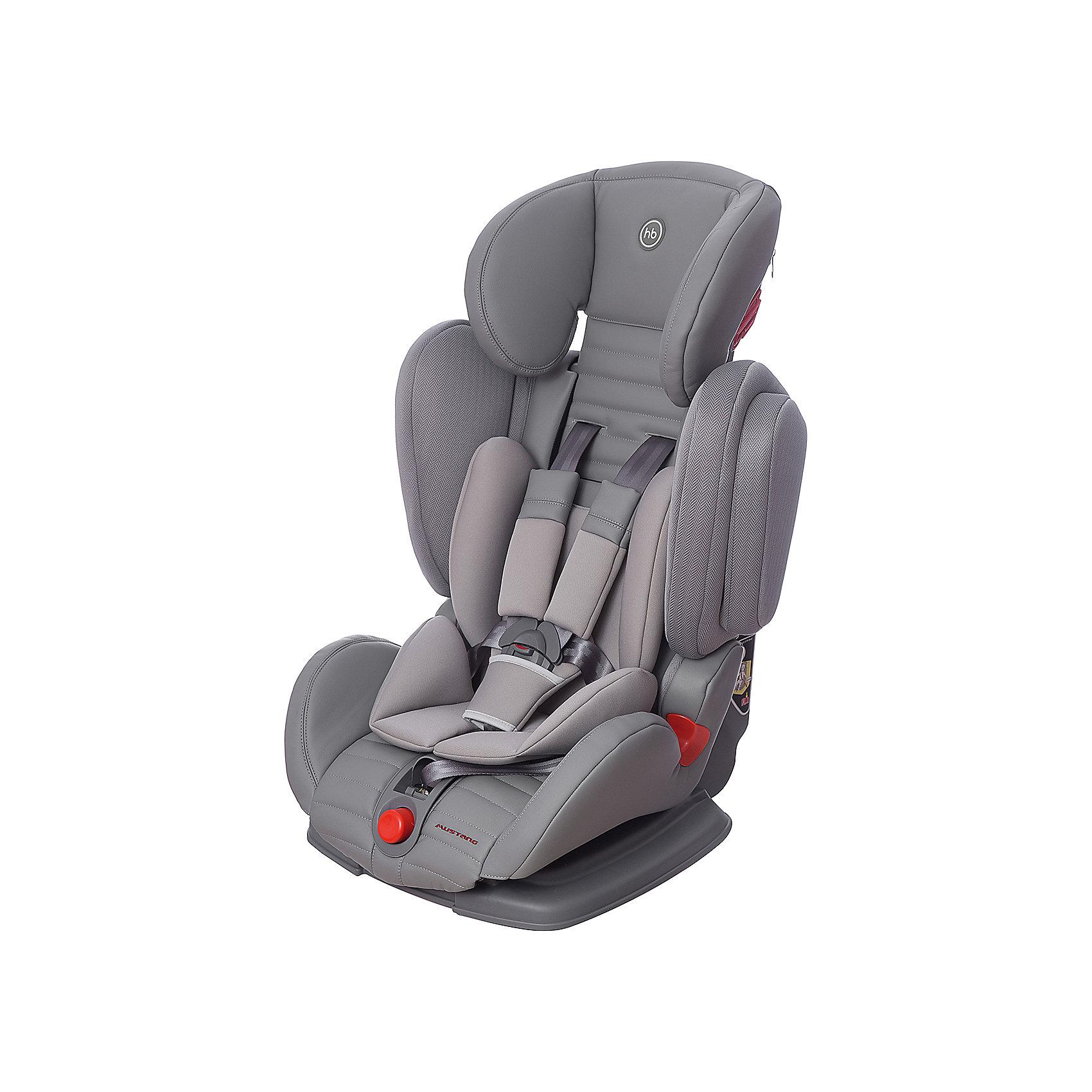Happy Baby Автокресло Mustang, 9-36 кг., Happy Baby, серый группа 0 0 от 0 до 13 кг happy baby skyler