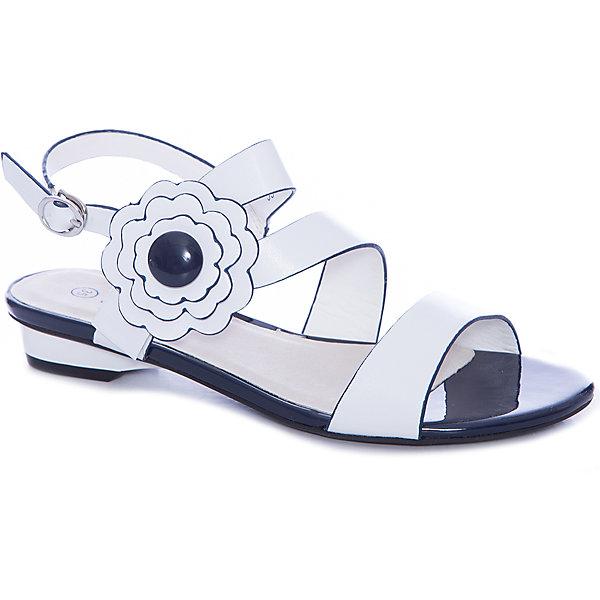 Босоножки для девочки MURSUБосоножки<br>Компания Mursu (Мурсу) создает потрясающую городскую обувь для детей, ценящих стиль и комфорт. В дизайне босоножек Mursu (Мурсу) проявляется романтический стиль их обладательницы! Открытый носок, переплетение ремешков и брошь с изящным цветком делают сандалии очень привлекательными. Они отлично подойдут и к платью и к шортам. Стелька из натуральной кожи создает оптимальный микроклимат для ножки девочки. Одевать босоножки невероятно легко, удобный регулируемый ремешок позволит зафиксировать ножку девочки и не будет натирать. Босоножки Mursu (Мурсу) станут любимой летней обувью девочки!<br><br>Дополнительная информация:<br><br>- Сезон: лето;<br>- Стелька: натуральная кожа;<br>- Материал верха: искусственная кожа;     <br>- Подкладка: искусственная кожа;<br>- Материал подошвы: TPR;                                                                                                                     <br>- Стильный дизайн.<br>                                                         <br>Босоножки для девочки Mursu (Мурсу) можно купить в нашем интернет-магазине.<br><br>Ширина мм: 227<br>Глубина мм: 145<br>Высота мм: 124<br>Вес г: 325<br>Цвет: белый<br>Возраст от месяцев: 132<br>Возраст до месяцев: 144<br>Пол: Женский<br>Возраст: Детский<br>Размер: 35,36,32,33,34,37<br>SKU: 4022702