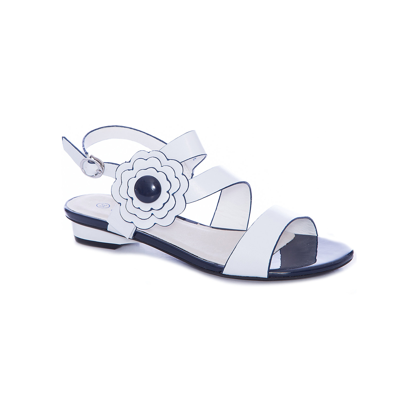 Босоножки для девочки MURSUБосоножки<br>Компания Mursu (Мурсу) создает потрясающую городскую обувь для детей, ценящих стиль и комфорт. В дизайне босоножек Mursu (Мурсу) проявляется романтический стиль их обладательницы! Открытый носок, переплетение ремешков и брошь с изящным цветком делают сандалии очень привлекательными. Они отлично подойдут и к платью и к шортам. Стелька из натуральной кожи создает оптимальный микроклимат для ножки девочки. Одевать босоножки невероятно легко, удобный регулируемый ремешок позволит зафиксировать ножку девочки и не будет натирать. Босоножки Mursu (Мурсу) станут любимой летней обувью девочки!<br><br>Дополнительная информация:<br><br>- Сезон: лето;<br>- Стелька: натуральная кожа;<br>- Материал верха: искусственная кожа;     <br>- Подкладка: искусственная кожа;<br>- Материал подошвы: TPR;                                                                                                                     <br>- Стильный дизайн.<br>                                                         <br>Босоножки для девочки Mursu (Мурсу) можно купить в нашем интернет-магазине.<br><br>Ширина мм: 227<br>Глубина мм: 145<br>Высота мм: 124<br>Вес г: 325<br>Цвет: белый<br>Возраст от месяцев: 132<br>Возраст до месяцев: 144<br>Пол: Женский<br>Возраст: Детский<br>Размер: 34,33,35,32,36,37<br>SKU: 4022702