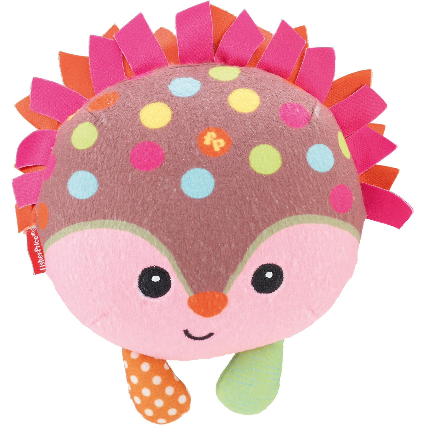 Игрушки Веселые друзья, со звуком, Fisher-Price, в ассортиментеМаленькие плюшевые зверюшки обязательно станут друзьями вашему малышу. Хихиканье и забавные звуки развеселят кроху, а яркие цвета, веселые узоры и мягкая текстура помогут малышу улучшить навыки восприятия. Игрушка выполнена из высококачественных материалов безопасных для детей. <br><br>Дополнительная информация:<br><br>- Материал: плюш.<br>- Размер упаковки: 10х16.5х20.5 см<br>- У каждой зверюшки свой особенный смех.<br>- Игрушка в ассортименте.<br><br>ВНИМАНИЕ! Данный артикул представлен в разных вариантах исполнения. К сожалению, заранее выбрать определенный вариант невозможно. При заказе нескольких игрушек возможно получение одинаковых.<br><br>Игрушки Веселые друзья, со звуком, Fisher-Price (Фишер-Прайс), в ассортименте можно купить в нашем магазине.<br><br>Ширина мм: 165<br>Глубина мм: 100<br>Высота мм: 205<br>Вес г: 288<br>Возраст от месяцев: 12<br>Возраст до месяцев: 36<br>Пол: Унисекс<br>Возраст: Детский<br>SKU: 4023710
