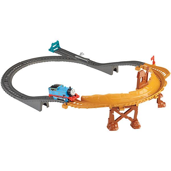 Игровой набор Переправа через мост, Томас и его друзьяИгрушки<br>Этот набор порадует всех любителей паровозиков и мультфильма Томас и его друзья. Трек быстро и легко собирается и разбирается, детали трека имеют прочные крепления. Ваш ребенок придет в восторг от того, как легко маленький паровозик преодолевает препятствия и ездит по крутой трассе. Игрушка выполнена из высококачественных материалов безопасных для детей. <br><br>Дополнительная информация:<br><br>- Материал: пластик.<br>- Размер упаковки: 27 x 35 x 8 см.<br>- Комплектация: паровозик, детали трека, аксессуары.<br><br>Игровой набор Переправа через мост, Томас и его друзья можно купить в нашем магазине.<br><br>Ширина мм: 355<br>Глубина мм: 75<br>Высота мм: 265<br>Вес г: 902<br>Возраст от месяцев: 36<br>Возраст до месяцев: 120<br>Пол: Мужской<br>Возраст: Детский<br>SKU: 4023713