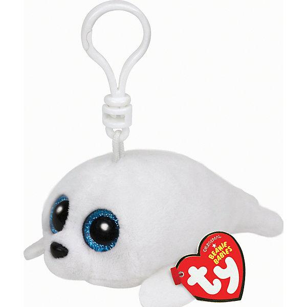 Мягкая игрушка Брелок Белый тюлень Icing, 13 см, Beanie Boos, TyМягкие игрушки животные<br>Мягкая игрушка Брелок Белый тюлень Icing, 13 см, Beanie Boos, Ty (Тай)<br><br>Характеристики:<br><br>• мягкая игрушка в виде брелока<br>• не содержит опасных для ребенка материалов<br>• размер игрушки: 13 см<br>• состав: текстиль, искусственный мех, пластик<br>• способствует развитию зрительной координации, мелкой моторики и тактильных навыков<br><br>Белый тюлень по имени Icing станет надежным другом и верным помощником для вашего ребенка. Его большие синие глаза в сочетании с белоснежной шерсткой выглядят просто восхитительно! Игрушка выполнена в форме брелока, который отлично подойдет для ключей или для декорирования комнаты. игра способствует развитию моторики рук, тактильных навыков.<br><br>Мягкую игрушку Брелок Белый тюлень Icing, 13 см, Beanie Boos, Ty (Тай) вы можете купить в нашем интернет-магазине.<br>Ширина мм: 137; Глубина мм: 57; Высота мм: 55; Вес г: 23; Возраст от месяцев: 36; Возраст до месяцев: 1188; Пол: Женский; Возраст: Детский; SKU: 4023916;