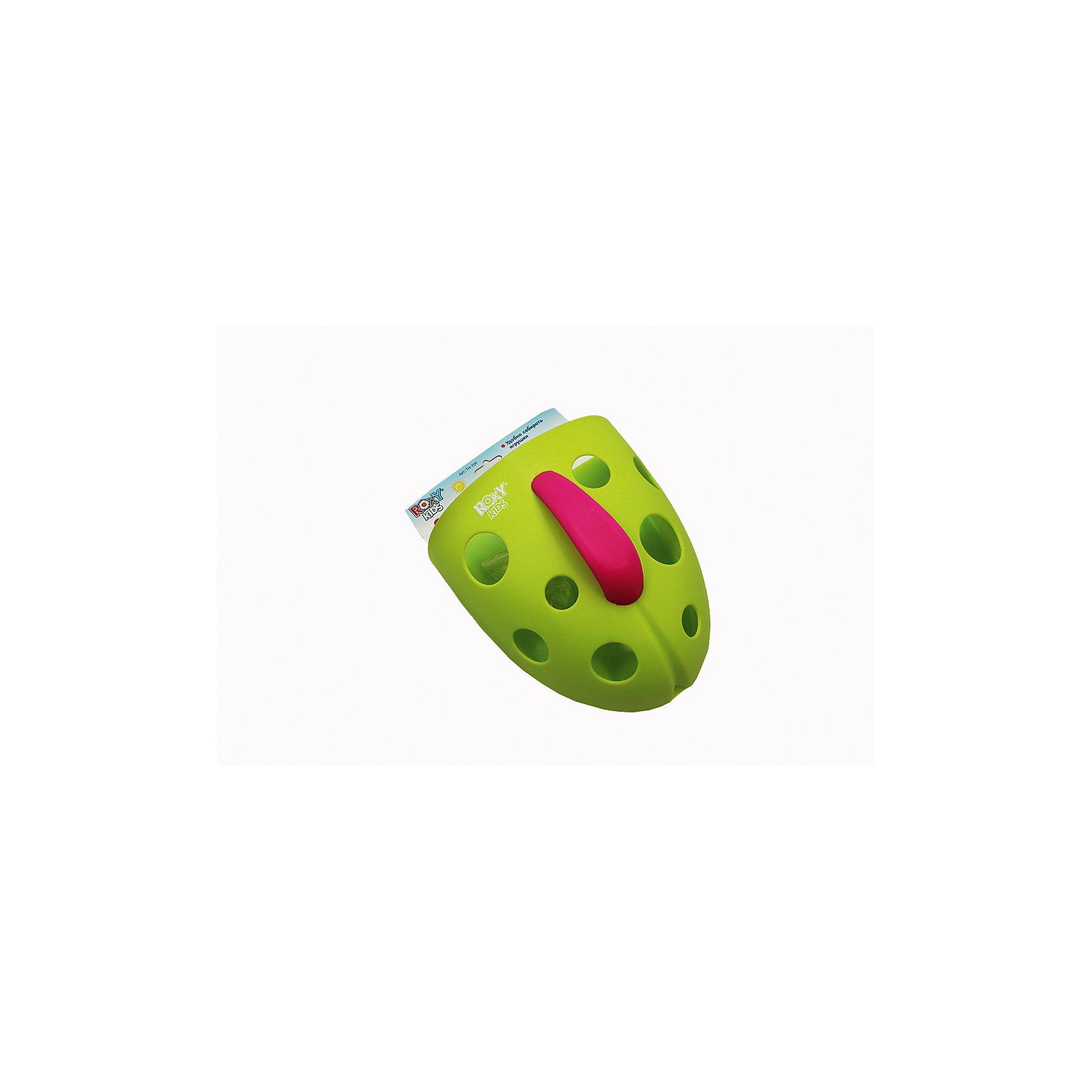 Roxy-Kids Органайзер для игрушек на присоске, Roxy-Kids, roxy kids козырек защитный для мытья головы rbc 492 g зеленый от 6 месяцев до 3 лет