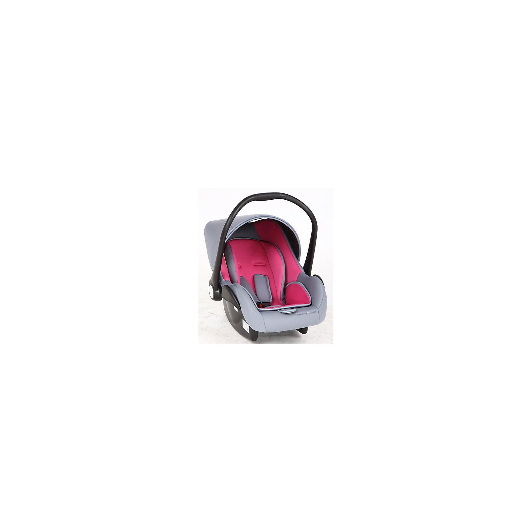Автокресло Baby Leader Comfort, 0-13 кг., Leader Kids, розовый/серыйДетское автокресло Baby Leader Comfort от Leader Kids (Лидер Кидс) - это удобнейшее кресло-переноска для детей с рождения до 13 кг. Новорожденным детям необходимо особое положение при езде, поэтому кресло Baby Leader Comfort с анатомической подушкой разработано таким образом, чтобы маленькому пассажиру было максимально комфортно в пути. Установить кресло очень легко, ведь оно надежно крепится ремнями безопасности автомобиля. Отрегулируйте внутренние ремни безопасности кресла с мягкими накладками, чтобы обеспечить малышу высокий уровень безопасности в дороге. Дополнительный комфорт обеспечивает удобный козырек, который эффективно защитит малыша от сквозняков и яркого солнца. Главным преимуществом  кресла Baby Leader Comfort является сочетание высокой степени защиты малыша и небольшого веса кресла. Даже молодой маме легко будет носить малыша в кресле. Baby Leader Comfort от Leader Kids (Лидер Кидс) - это безопасная переноска и удобное автокресло для Вашего крохи!<br><br>Дополнительная информация:<br><br>- Группа: 0+ (от 0 до 13 кг);<br>- Усиленная боковая защита;<br>- В комплекте: анатомическая подушка, капюшон;<br>- Легко укачивать малыша в дороге;<br>- Удобная ручка для переноски с системой безопасной фиксации;<br>- Трехточечные ремни безопасности с регулировкой одним движением;<br>- Регулировка внутренних ремней безопасности по высоте;<br>- Устанавливается в автомобиле спиной по направлению движения;<br>- Съемную обивку можно стирать;<br>- Цвет: серый/розовый;<br>- Вес: 2,67 кг<br><br>Автокресло Baby Leader Comfort, 0-13 кг., Leader Kids (Лидер Кидс), серый/розовый можно купить в нашем интернет-магазине.<br><br>Ширина мм: 880<br>Глубина мм: 730<br>Высота мм: 450<br>Вес г: 2670<br>Возраст от месяцев: 0<br>Возраст до месяцев: 12<br>Пол: Унисекс<br>Возраст: Детский<br>SKU: 4026309