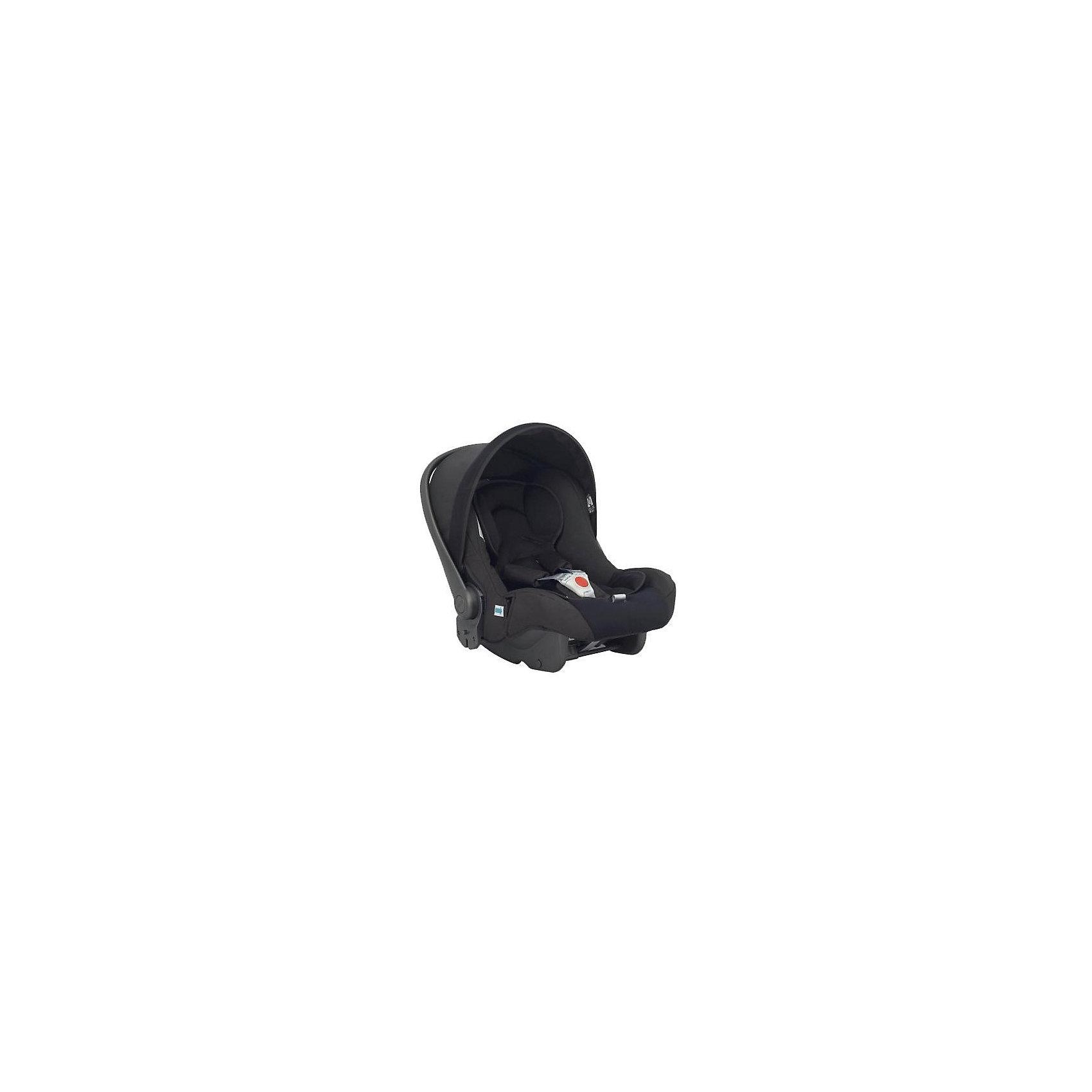 Автокресло Huggy Avio MFX Pir Black, 0-13 кг., Inglesina, чёрныйHuggy Avio Multifix от Inglesina (Инглезина) - это уникальное автокресло для тех кто ценит качество и высокий уровень комфорта. Кресло имеет европейский сертификат безопасности и в нем использована передовая система Side Head Protection (боковая защита головы ребенка). Благодаря удобным направляющим кресло очень просто установить в автомобиле. Автокресло Huggy Avio MFX может стать одним из звеньев в удобной транспортной системе Travel System Вашего малыша. Оно легко устанавливается на любое шасси Inglesina (Инглезина) благодаря чему, Вы можете перемещать ребенка из автомобиля в коляску не нарушая его сон! Качественная обивка сидения невероятно мягкая, что очень важно для новорожденных детей! Кресло Huggy Avio MFX оснащено анатомической подушкой, препятствующей скольжению, поэтому малыш всегда будет находиться в правильном положении во время поездки. Сиденье надежно крепится штатными ремнями безопасности автомобиля против хода движения. Дополнительный комфорт обеспечивает удобный козырек, который эффективно защитит малыша от сквозняков и яркого солнца. Ручка для переноски и козырек регулируются отдельно, что дает возможность подобрать идеальное положение. Huggy Avio MFX от Inglesina (Инглезина) - это удобство путешествий с малышом с самого рождения!<br><br>Дополнительная информация:<br><br>- Группа: 0+ (от 0 до 13 кг);<br>- Соответствует европейскому стандарту безопасности ECE R44/03;<br>- Усиленная боковая защита SHP;<br>- 4 положения эргономичной ручки для переноски;<br>- Комфортный мягкий вкладыш защищает от скольжения;<br>- Можно использовать в качестве переноски;<br>- Можно устанавливать на шасси;<br>- Отдельно можно приобрести базу Isofix;<br>- Легко укачивать малыша в дороге;<br>- Внутренние трехточечные ремни безопасности;<br>- Устанавливается в автомобиле спиной по направлению движения;<br>- Съемную обивку можно стирать;<br>- Цвет: Pir Black (черный);<br>- Размер (ДхШхВ): 68 х 42 х 55 см;<br>- В