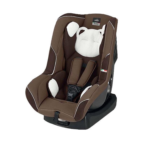 Автокресло CAM с подголовником Auto Gara, 0-18 кг, коричневыйГруппа 0-1 (до 18 кг)<br>Автокресло Auto Gara (Авто Гара), 0-18 кг., от CAM (КАМ) - это прекрасный выбор для путешествий малыша с рождения до 3 лет. Благодаря удобным регулировкам кресло подстраивается под меняющиеся потребности растущего малыша. Для новорожденным предусмотрена анатомическая вставка и пять положений наклона спинки, которые обеспечат здоровый и комфортный сон. Подросший малыш будет так же хорошо защищен в кресле благодаря усиленной боковой защите и удобному подголовнику. Вы можете без труда отрегулировать пятиточечные ремни кресла по высоте, чтобы обеспечить высочайший уровень безопасности ребенку любого роста. Не бойтесь испачкать сиденье, чехол из технологичной ткани легко стирается и кресло снова выглядит как новое. Кресло легко установить в машине и закрепить штатными ремнями безопасности: до 9 месяцев против хода движения, послед 9 месяцев по ходу движения автомобиля.<br><br>Дополнительная информация:<br><br>- Группа: 0/1 (от 0 до 18 кг);<br>- Соответствует европейским нормам безопасности ECE R44/04;<br>- Усиленная боковая защита;<br>- Вкладыш для новорожденных;<br>- Пять положений наклона спинки;<br>- Удобный подголовник;<br>- Надежные пятиточечные ремни безопасности;<br>- Регулировка ремней одним движением;<br>- Устанавливается в автомобиле спиной по направлению движения до 9 мес, и по направлению движения после 9 мес;<br>- Съемную обивку можно стирать;<br>- Цвет: коричневый;<br>- Размер: 64 х 59 х 41 см;<br>- Вес: 5,5 кг<br><br>Автокресло Auto Gara(Авто Гара) , 0-18 кг., CAM (КАМ), коричневое можно купить в нашем интернет-магазине.<br><br>Ширина мм: 900<br>Глубина мм: 600<br>Высота мм: 420<br>Вес г: 5580<br>Цвет: коричневый<br>Возраст от месяцев: 0<br>Возраст до месяцев: 48<br>Пол: Унисекс<br>Возраст: Детский<br>SKU: 4026332