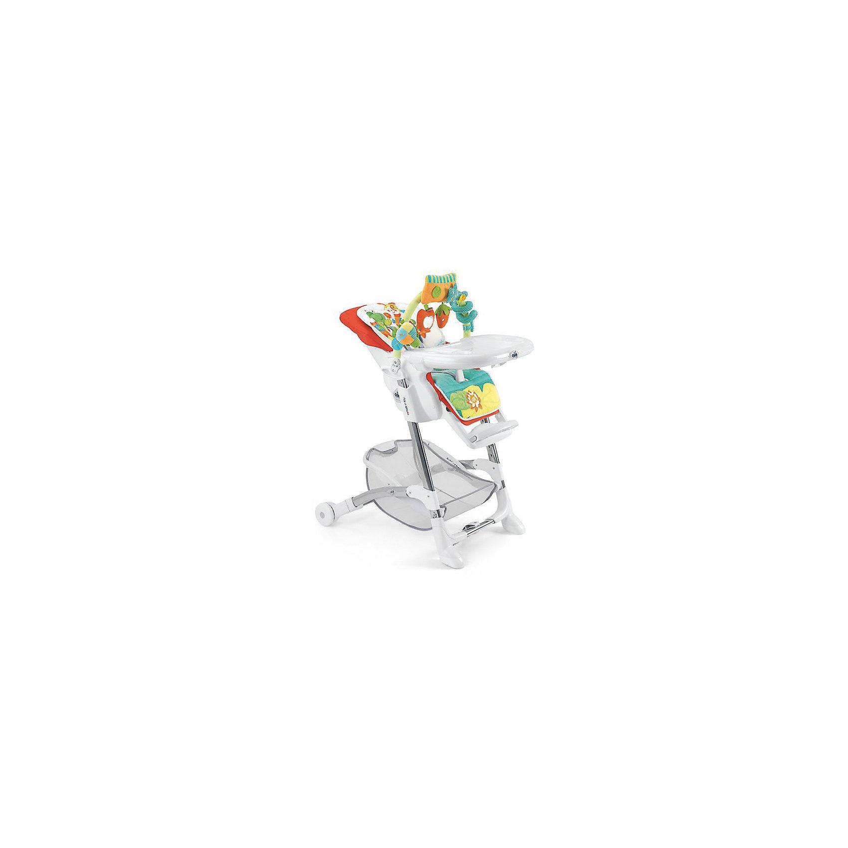 Стульчик для кормления Istante, CAM, коралловый с божьей коровкойСтульчик для кормления Istante, CAM, коралловый с божьей коровкой обеспечивает удобство при кормлении.<br>Очень компактный и легкий стул создает максимальный комфорт для ребенка. Он регулируется: наклон спинки (4 режима), положение и высота опоры для ног (3 режима), регулировка высоты стула (7 режимов). Поднос можно снять, он также регулируется в 4 режимах. Кроме того, у стульчика чехол из искусственной кожи, который можно снять и легко помыть. Два колеса спереди обеспечивают удобное перемещение, но не скользят от движений ребенка. Для безопасности ребенка 5-точечный ремень безопасности. Есть отделение, в котором можно хранить продукты. Также есть крепление для игрушек, которым можно занять малыша, пока готовится обед. Оно легко «откидывается» назад, когда пришло время кушать. <br><br>Дополнительная информация:<br><br>- размер в открытом виде: 62х84х109 см<br>- размер в сложенном виде: 56х35х99.5см<br>- возрастная группа: от 0 месяцев<br>- цвет: коралловый<br>- в комплекте: 2 подноса<br><br>Стульчик для кормления Istante, CAM, коралловый с божьей коровкой можно купить в нашем интернет магазине.<br><br>Ширина мм: 587<br>Глубина мм: 272<br>Высота мм: 970<br>Вес г: 12500<br>Возраст от месяцев: 0<br>Возраст до месяцев: 36<br>Пол: Унисекс<br>Возраст: Детский<br>SKU: 4026477