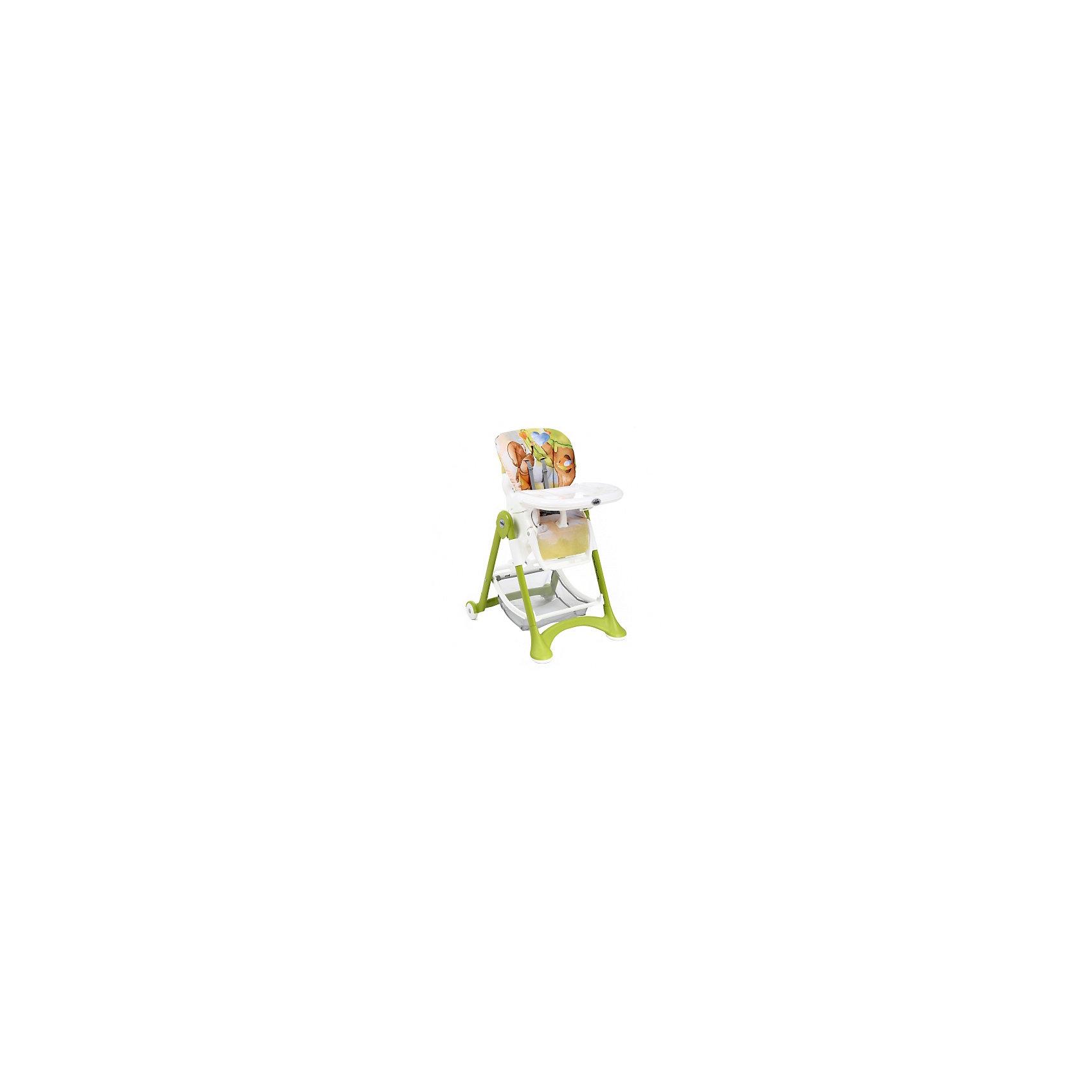 CAM Стульчик для кормления Campione Мишка, CAM, зеленый