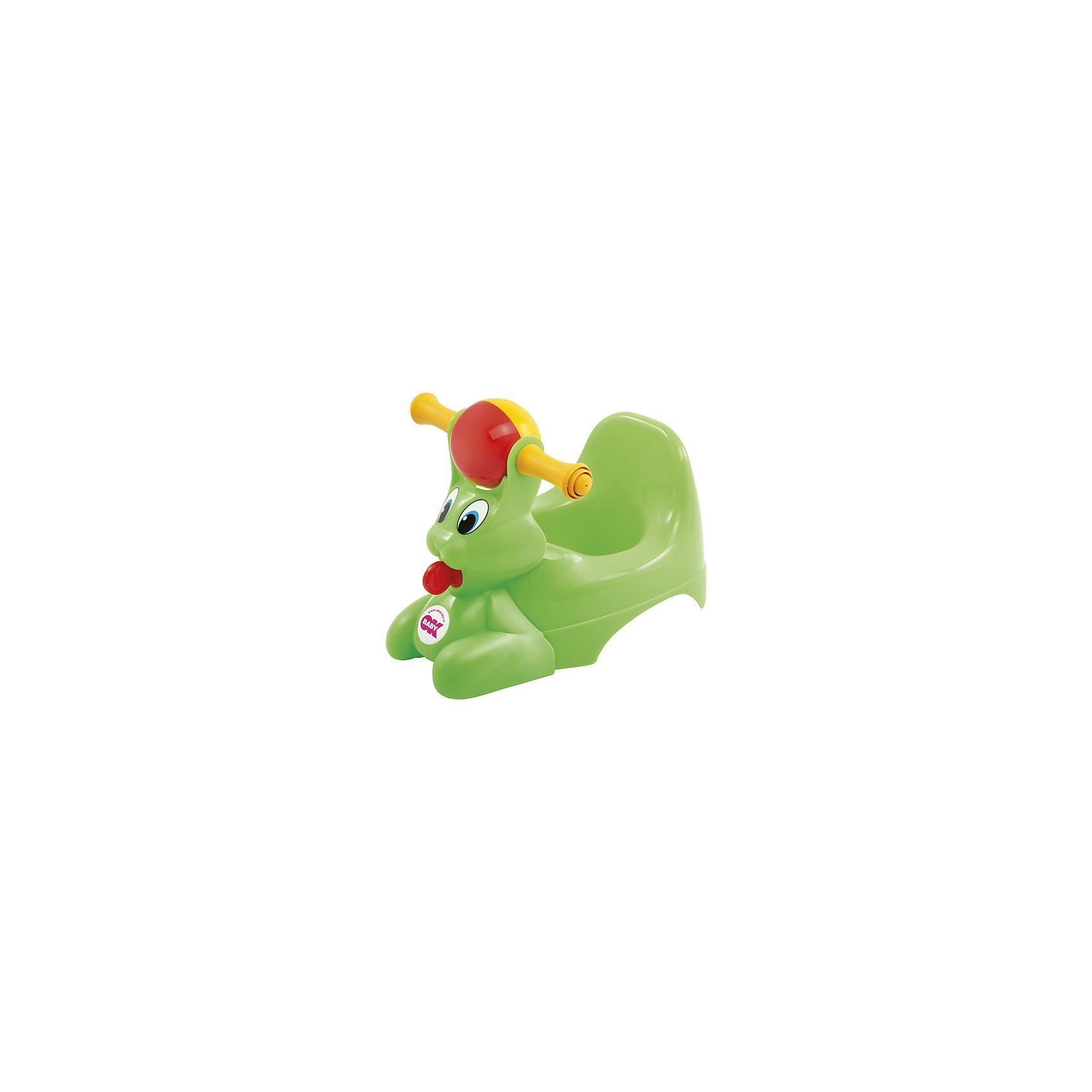 Горшок Spidy, OK Baby, зеленый