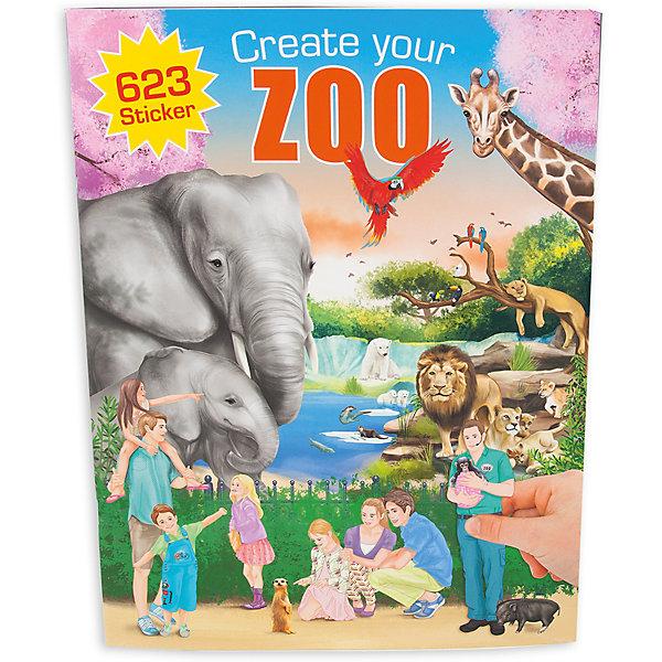 Альбом с наклейками Zoo, Creative StudioКнижки с наклейками<br>Альбом с наклейками Zoo, Creative Studio<br><br>Характеристики:<br><br>• В комплекте: раскраска, 3 листа с наклейками (500 штук)<br>• Возраст: от 3 до 6 лет<br>• Количество страниц: 20<br><br>Этот альбом из серии CreativeStudio содержит 20 листов с различными сюжетами из зоопарка, где живут многочисленные виды животных. На 3 листах с наклейками ребенок обнаружит вещи, которые помогут сделать этот мир реалистичным и разнообразить игру. Эта книга помогает развитию воображения вашего ребенка и его мелкой моторики. <br><br>Альбом с наклейками Zoo, Creative Studio можно купить в нашем интернет-магазине.<br><br>Ширина мм: 336<br>Глубина мм: 253<br>Высота мм: 17<br>Вес г: 277<br>Возраст от месяцев: 60<br>Возраст до месяцев: 96<br>Пол: Унисекс<br>Возраст: Детский<br>SKU: 4026809