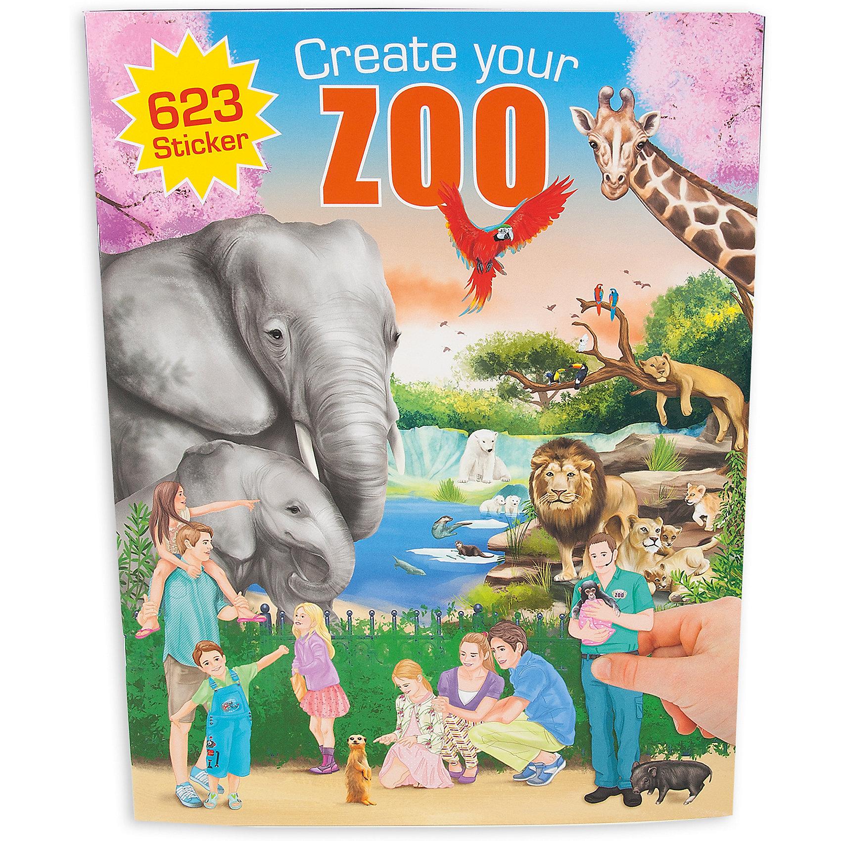Альбом с наклейками Zoo, Creative StudioКниги для развития творческих навыков<br>Альбом с наклейками Zoo, Creative Studio<br><br>Характеристики:<br><br>• В комплекте: раскраска, 3 листа с наклейками (500 штук)<br>• Возраст: от 3 до 6 лет<br>• Количество страниц: 20<br><br>Этот альбом из серии CreativeStudio содержит 20 листов с различными сюжетами из зоопарка, где живут многочисленные виды животных. На 3 листах с наклейками ребенок обнаружит вещи, которые помогут сделать этот мир реалистичным и разнообразить игру. Эта книга помогает развитию воображения вашего ребенка и его мелкой моторики. <br><br>Альбом с наклейками Zoo, Creative Studio можно купить в нашем интернет-магазине.<br><br>Ширина мм: 336<br>Глубина мм: 253<br>Высота мм: 17<br>Вес г: 277<br>Возраст от месяцев: 60<br>Возраст до месяцев: 96<br>Пол: Унисекс<br>Возраст: Детский<br>SKU: 4026809