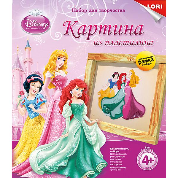 Картина из пластилина Принцессы Disney, LORI